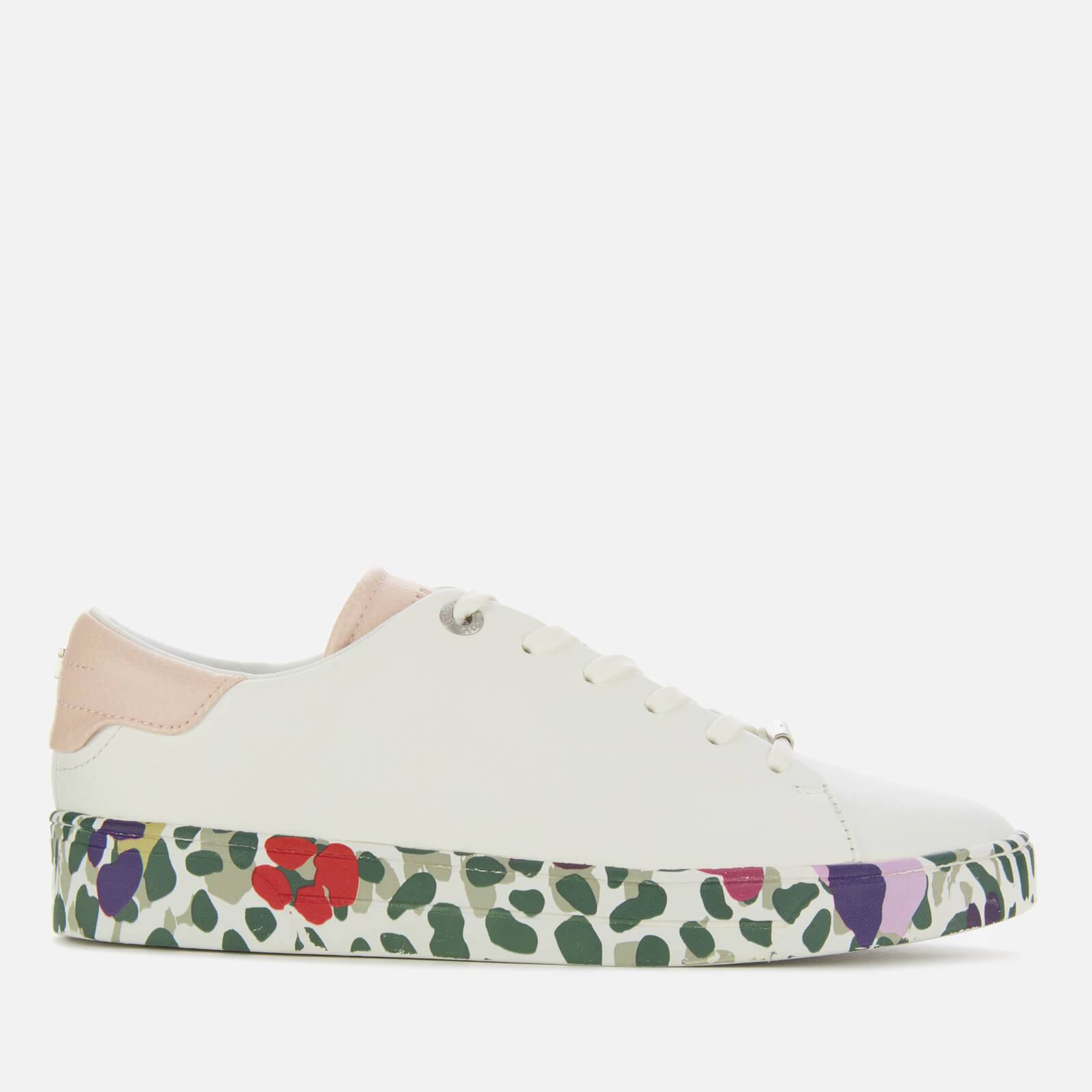 Ted Baker Women's Weni Leather Low Top Trainers - White - UK 3