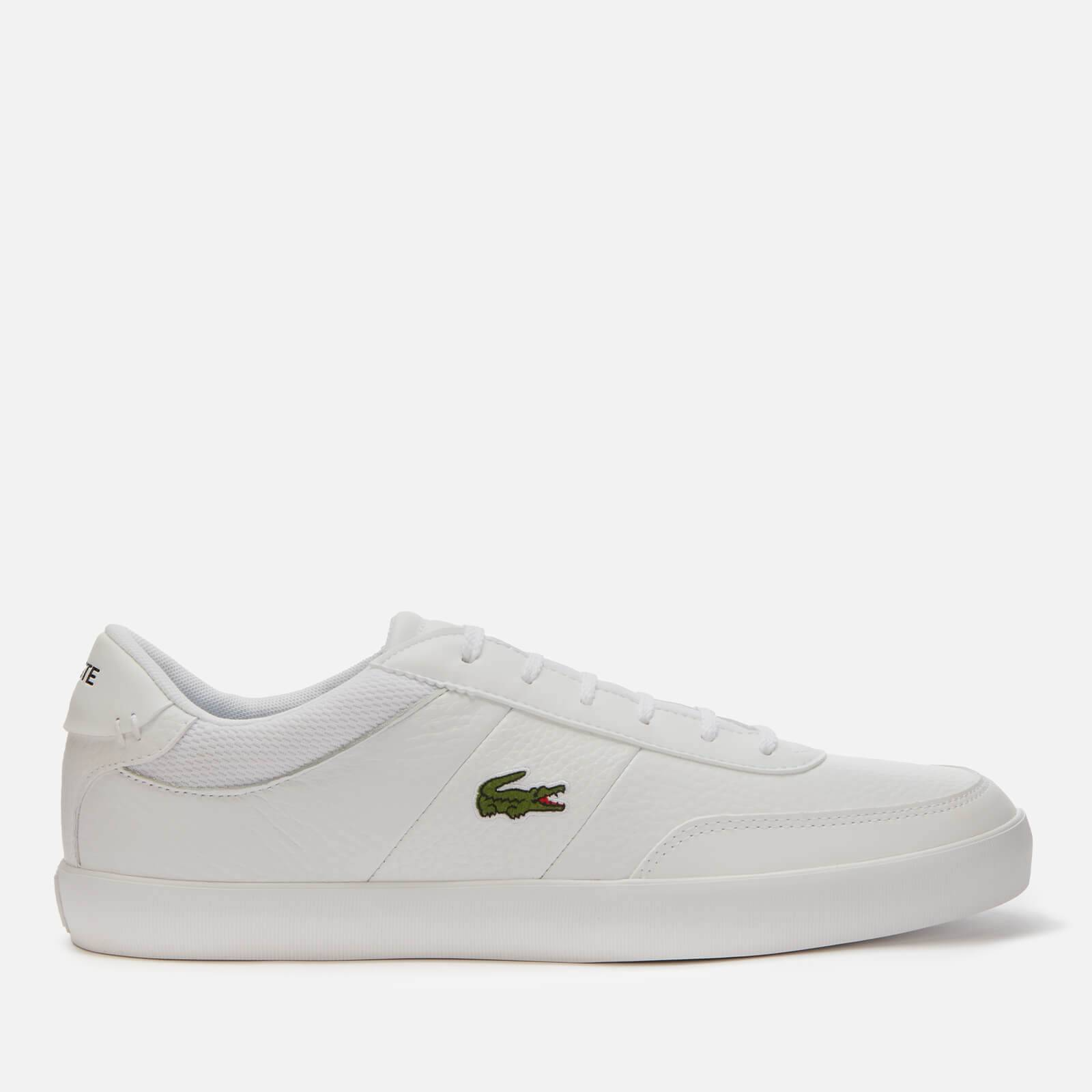 Lacoste Men's Court Master 120 Low Top Trainers - White - UK 11