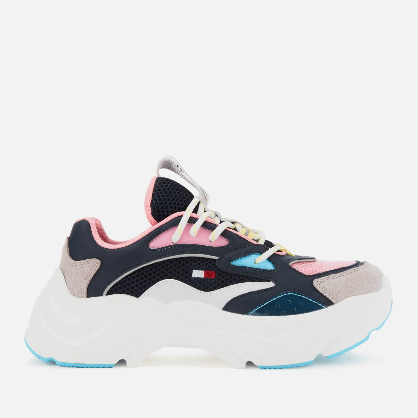 Tommy Jeans Women's Fashion Chunky Running Style Trainers - Twilight Navy - EU 38/UK 5