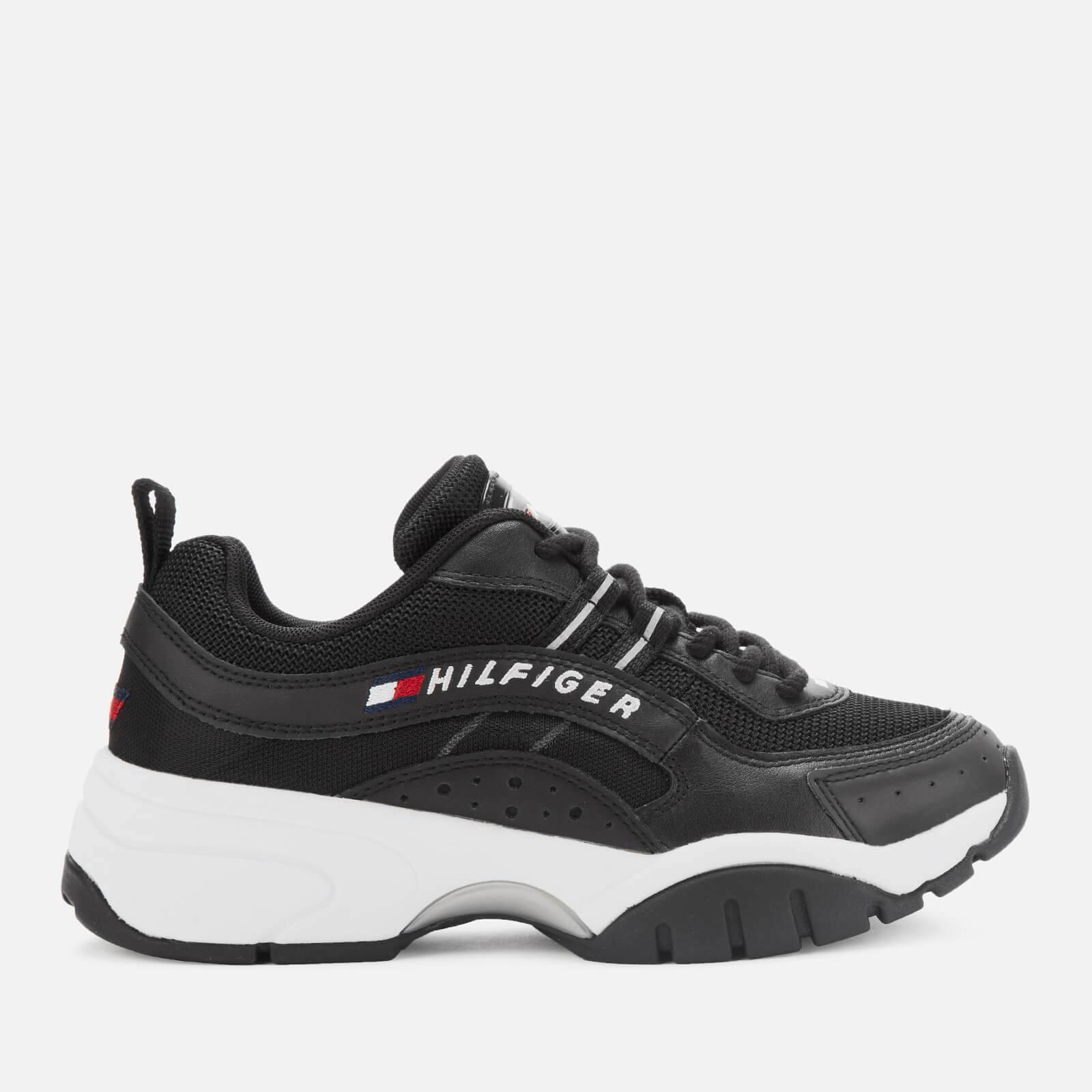 Tommy Jeans Women's Heritage Tommy Jeans Running Style Trainers - Black - EU 39/UK 6