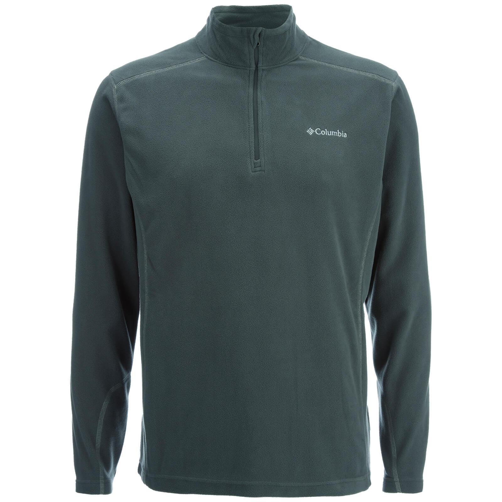 Columbia Men's Klamath Range 2 Half Zip Fleece - Grill - L - Grey