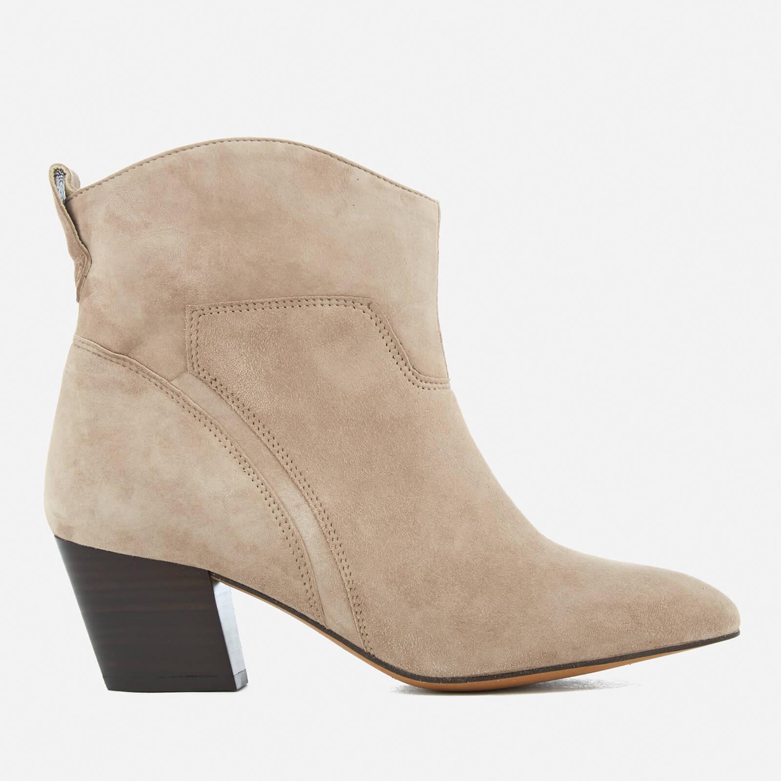 Hudson London Women's Karyn Suede Heeled Ankle Boots - Taupe - UK 3 - Beige