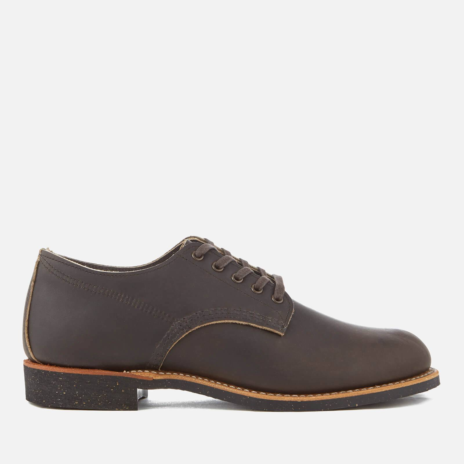 Red Wing Men's Merchant Leather Oxford Shoes - Ebony Harness - UK 8 - Brown