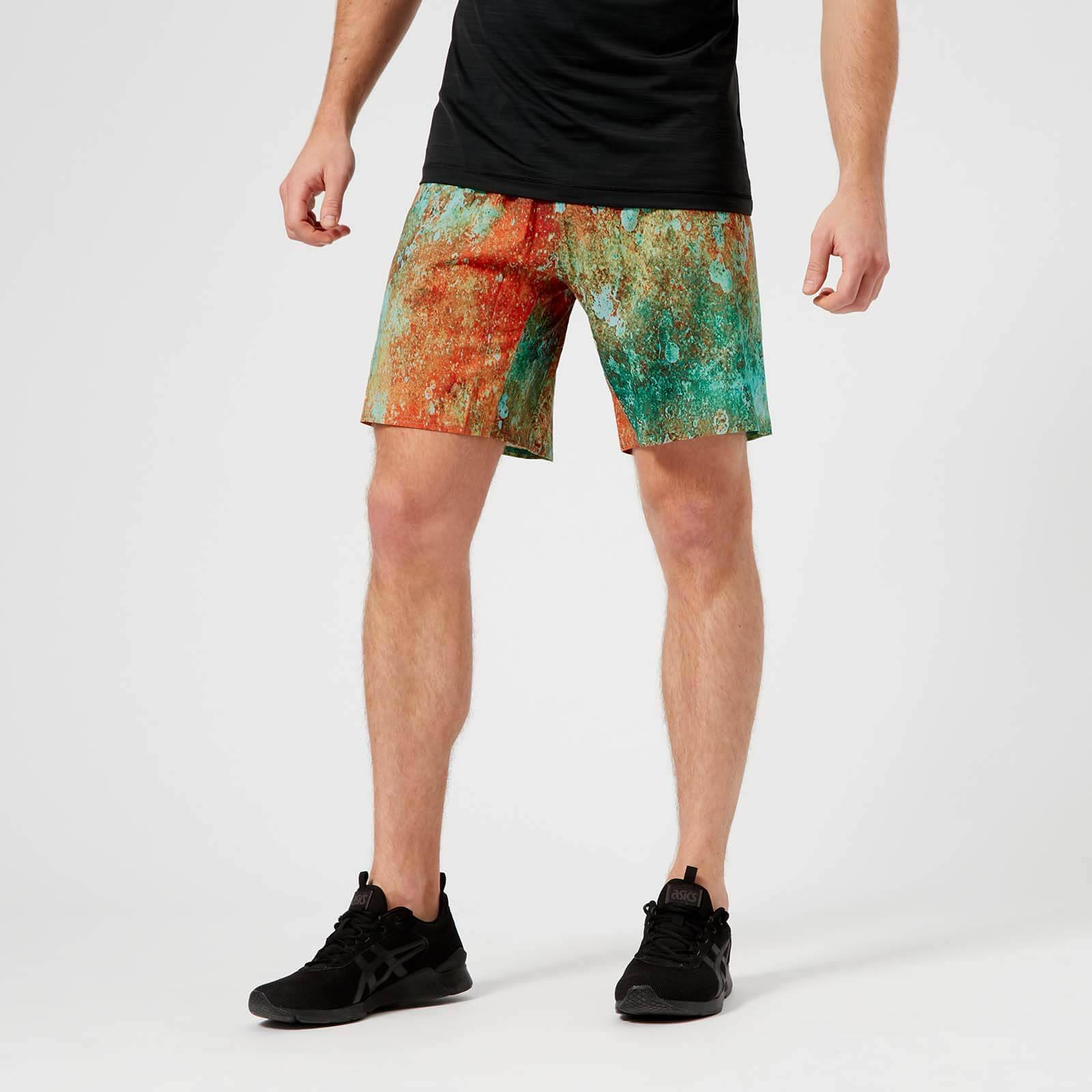 Reebok Men's CrossFit Speed Shorts - Turquoise - L - Multi