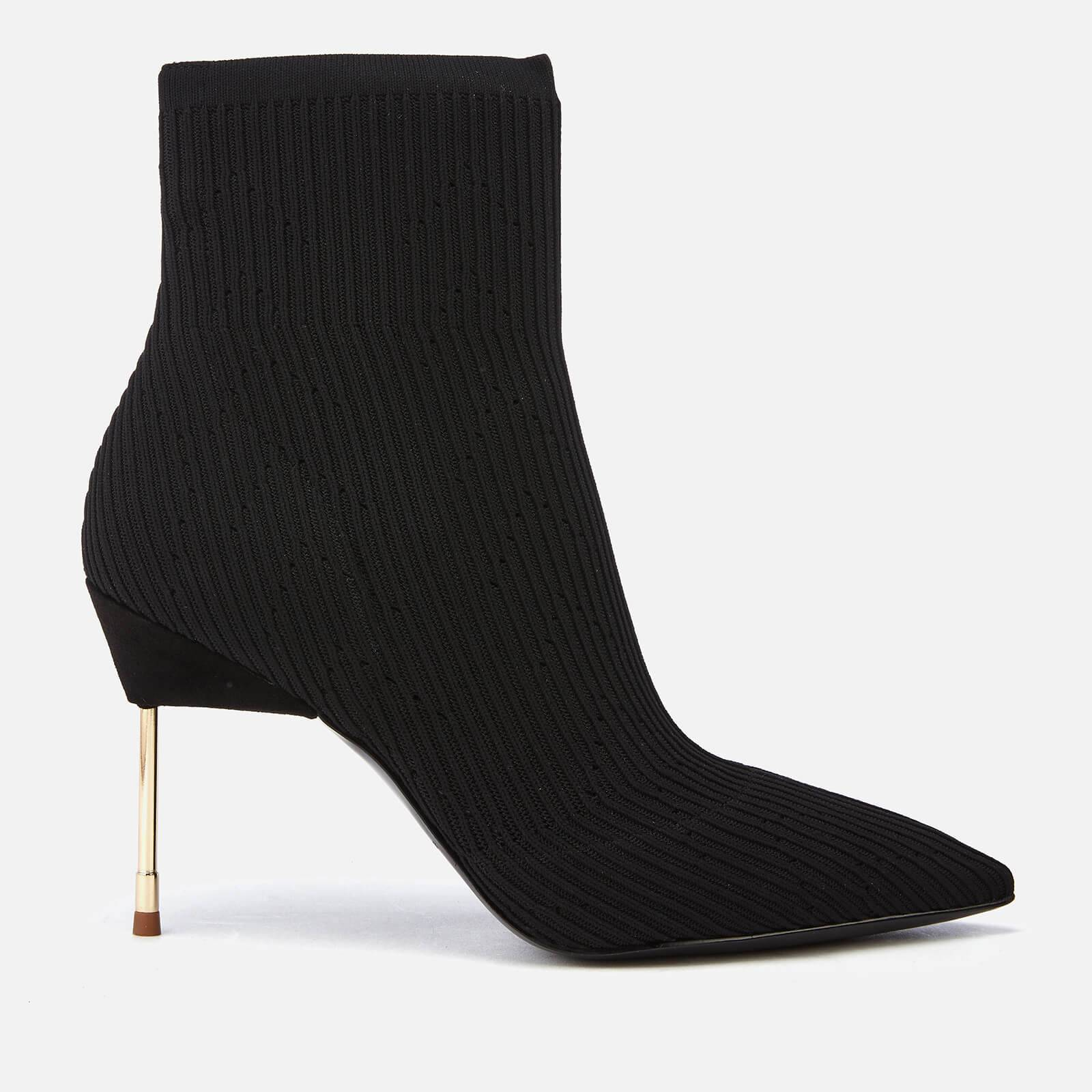 Kurt Geiger London Women's Barbican Stretch Heeled Ankle Boots - Black - UK 7