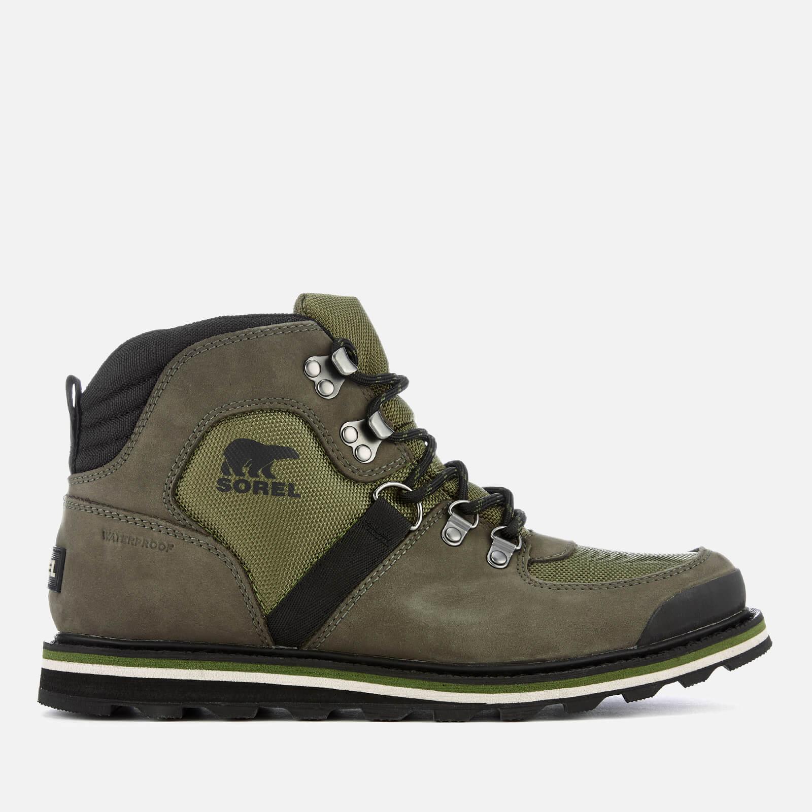 Sorel Men's Madson Sport Hiker Style Boots - Hiker Green - UK 10