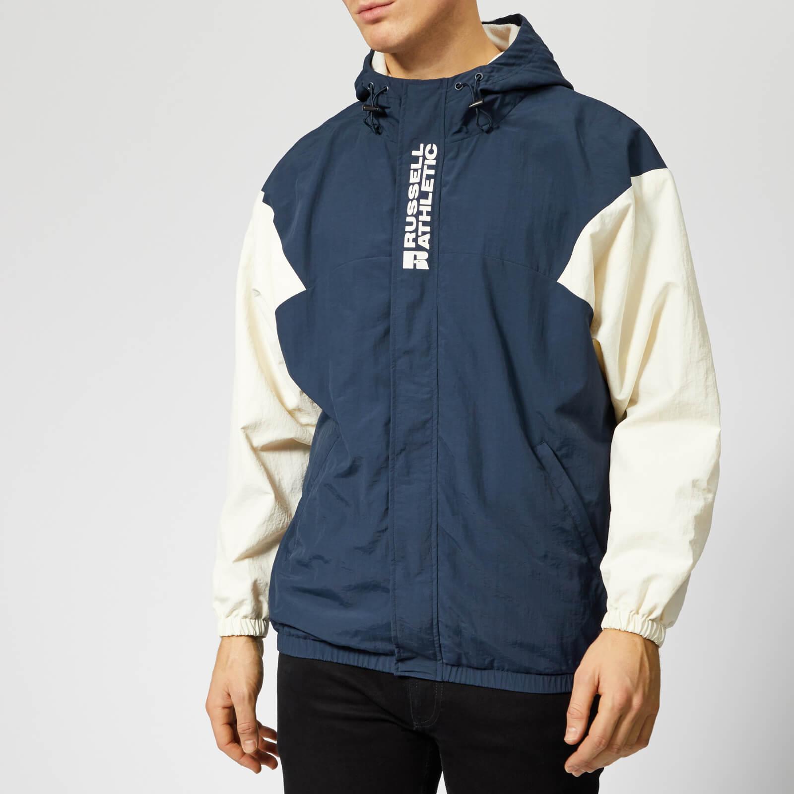 Russell Athletic Men's Bradley Hooded Sport Jacket - Navy - M - Navy