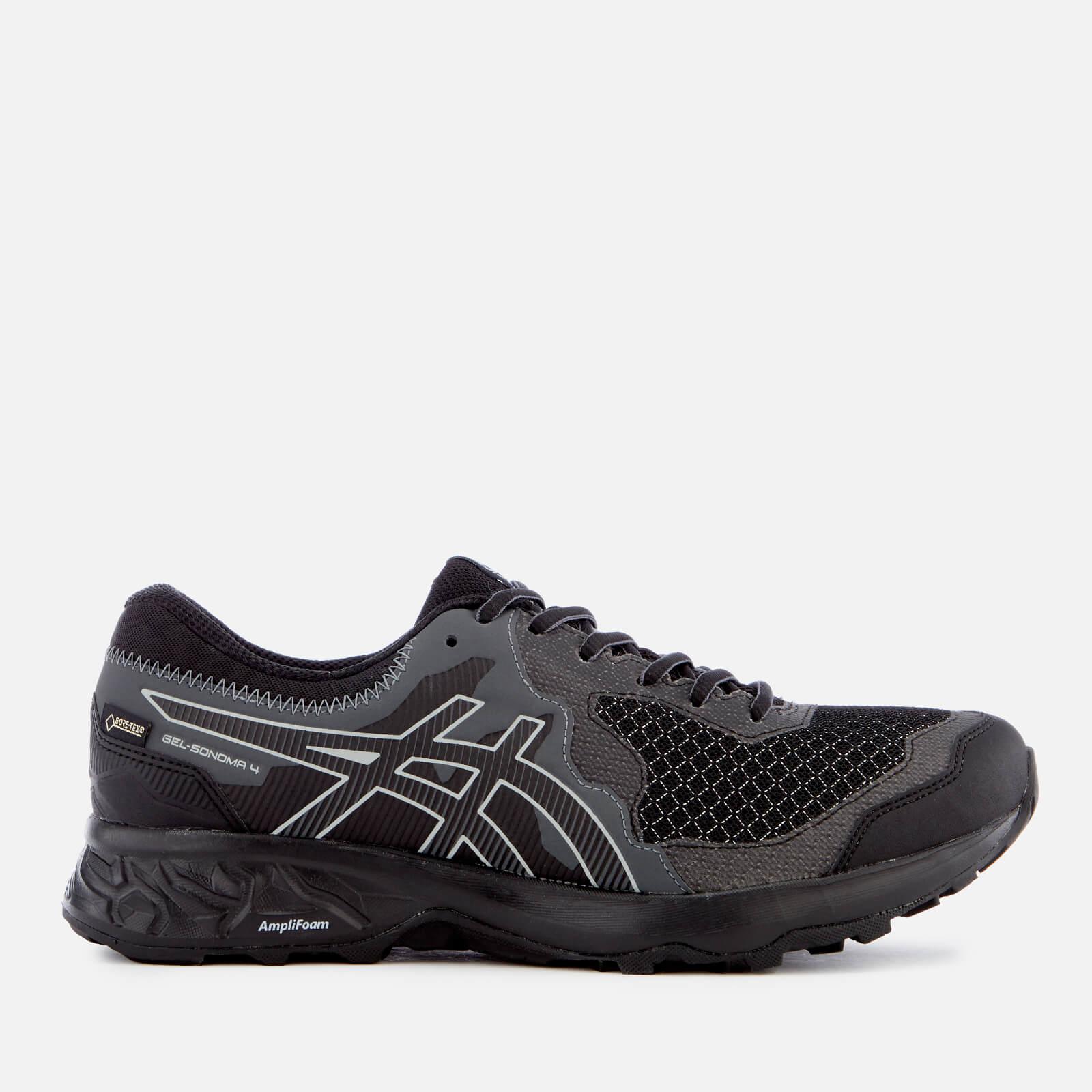 Asics Men's Running Trail Gel Somoma 4 Goretex Trainers - Black/Stone - UK 7.5 - Black