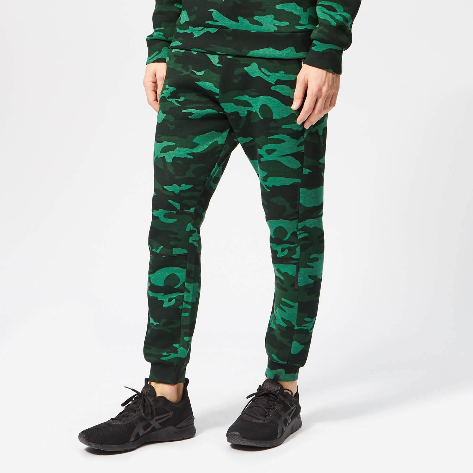 Superdry Sport Men's Gym Tech Stretch Joggers - Forest Camo - L - Green