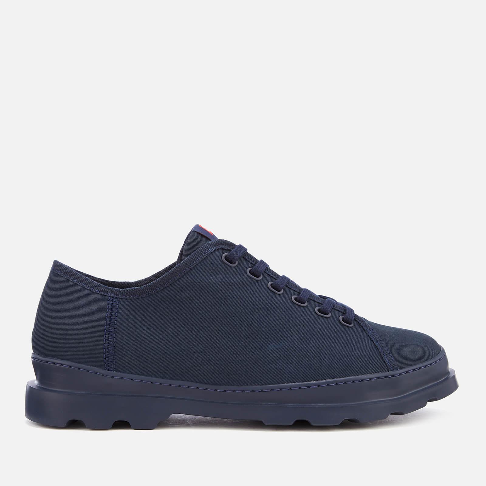 Camper Men's Brutus Canvas Shoes - Navy - UK 11 - Blue