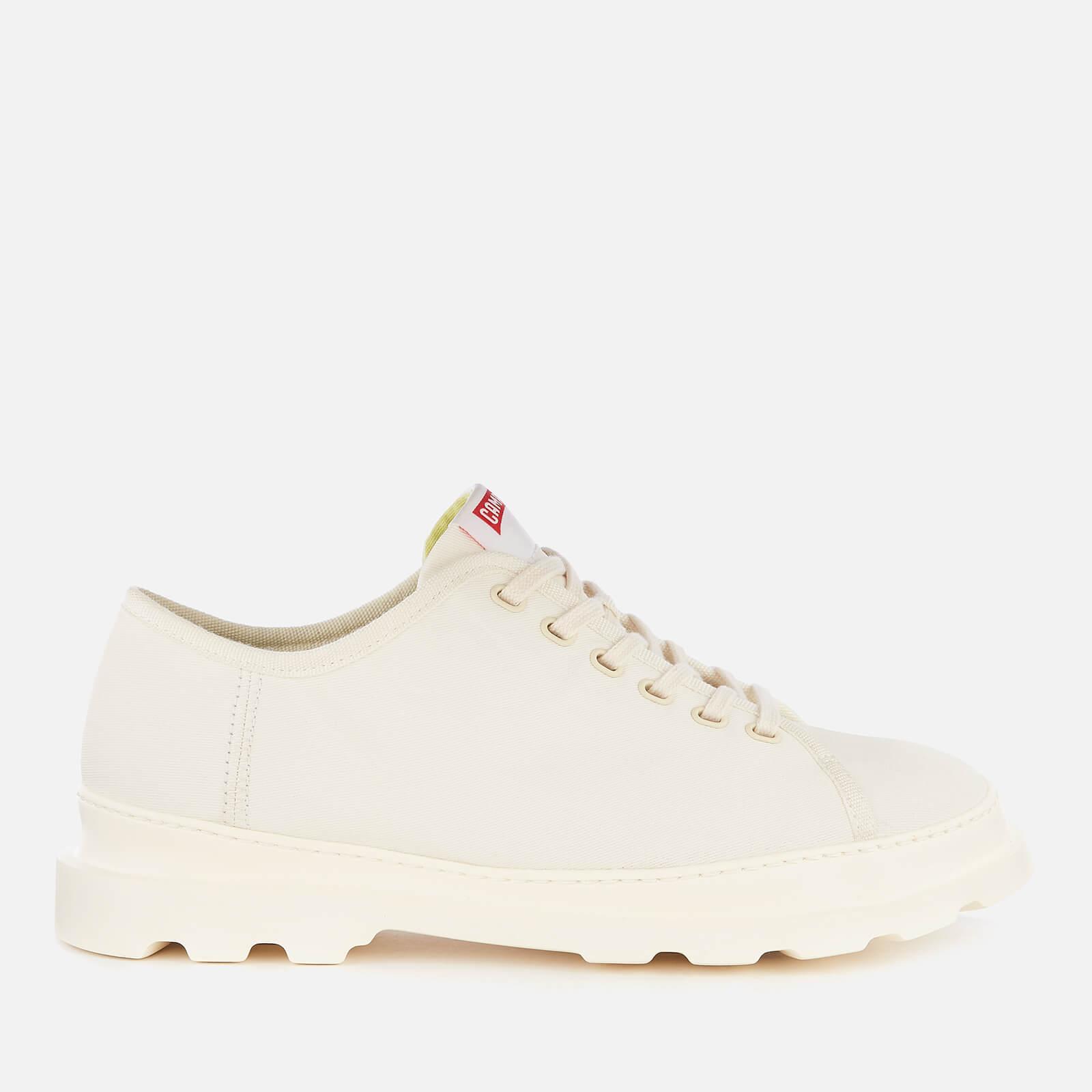 Camper Men's Brutus Canvas Shoes - Light Beige - UK 9 - Beige