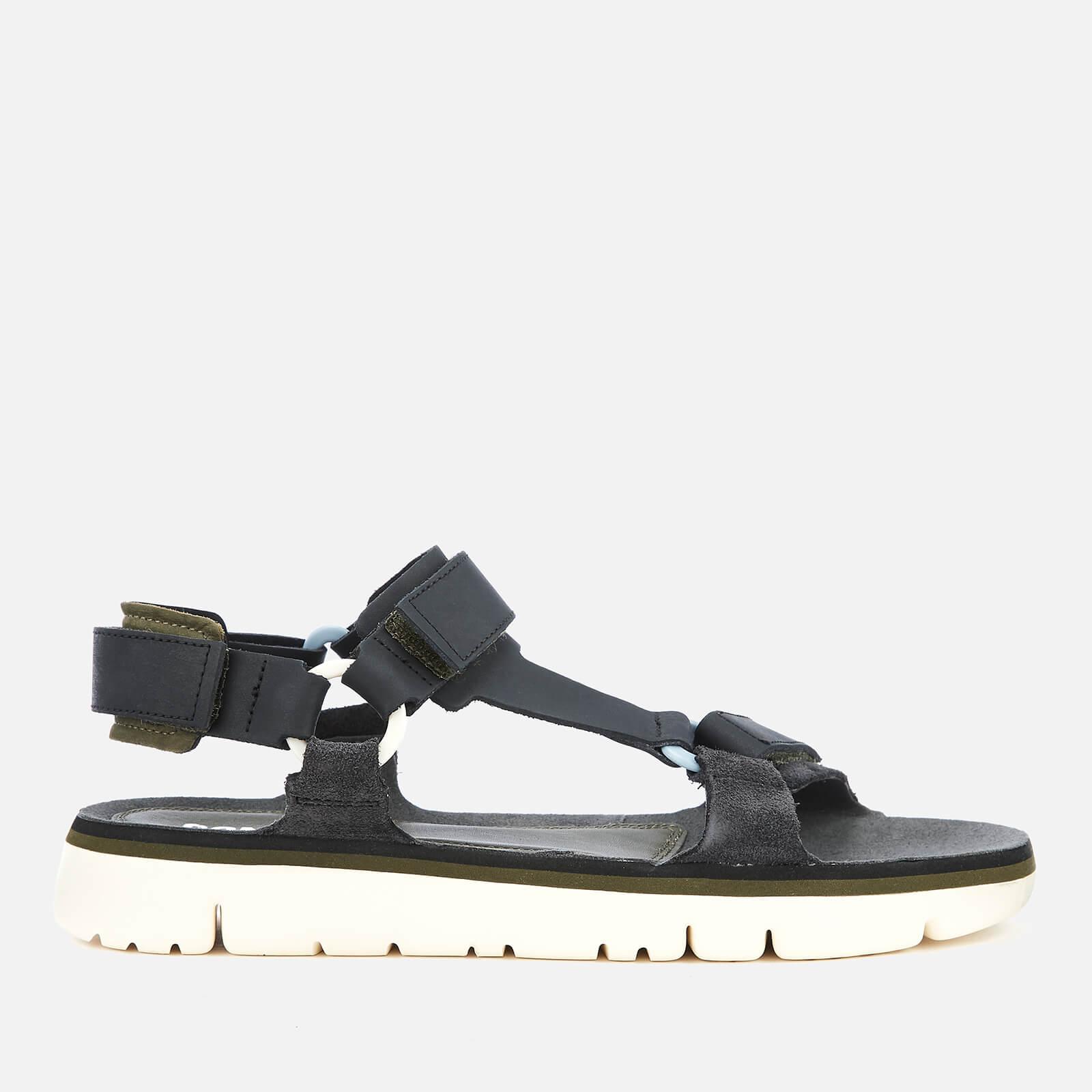 Camper Men's Oruga Sandals - Multi - UK 10 - Black