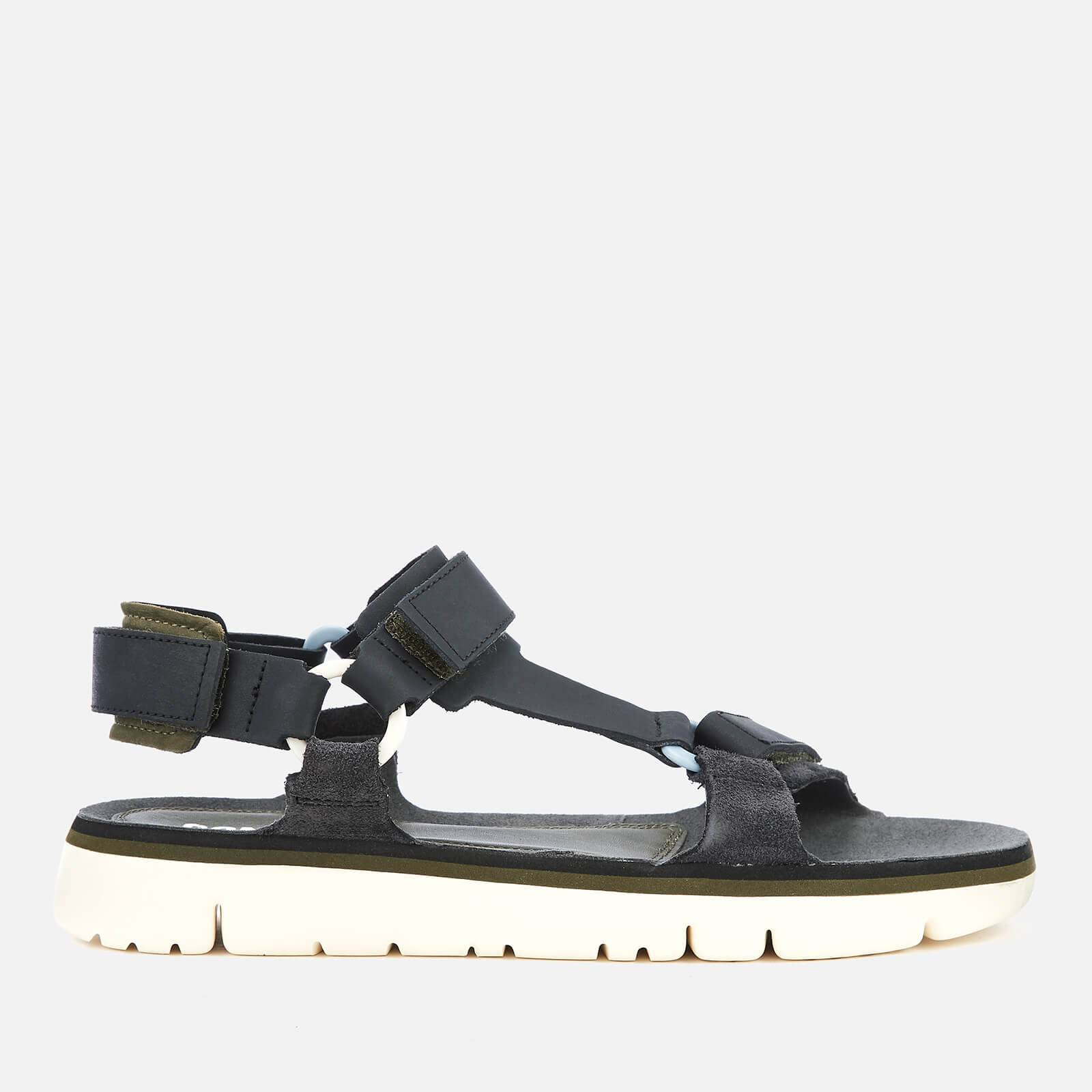 Camper Men's Oruga Sandals - Multi - UK 11 - Black