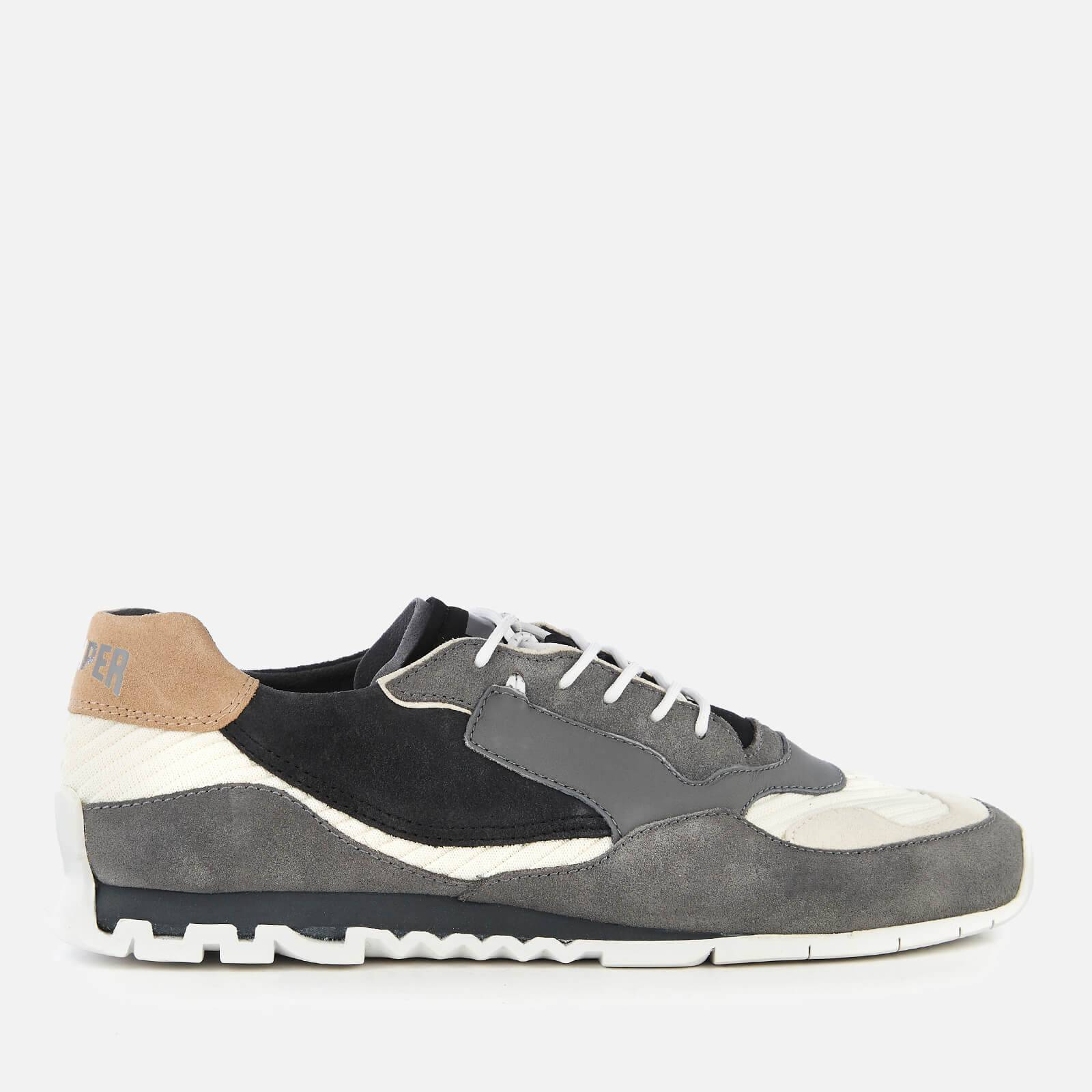 Camper Men's Nothing Low Profile Running Style Trainers - Multi - UK 10 - Grey