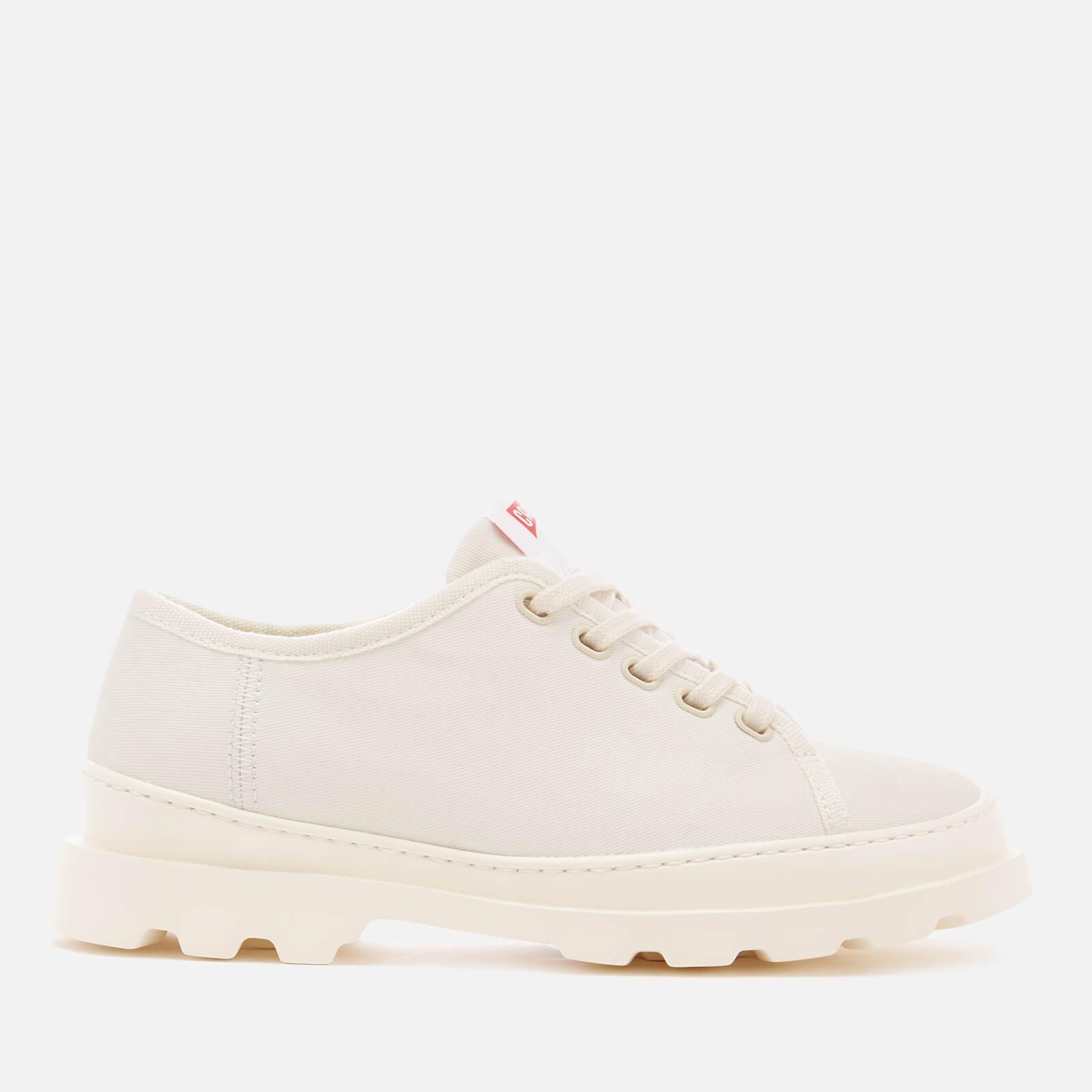Camper Women's Brutus Canvas Shoes - Light Beige - UK 7 - Beige