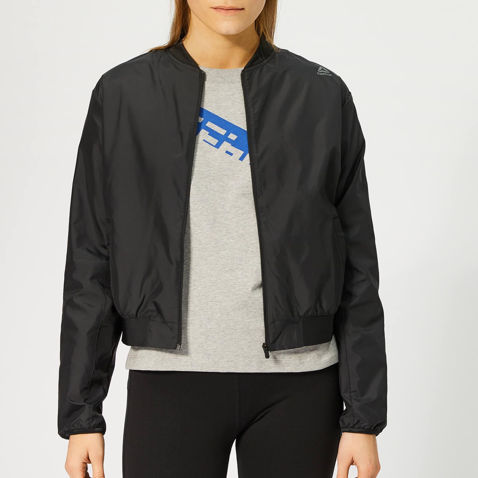 Reebok Women's Wor Comm Woven Jacket - Black - XS - Black