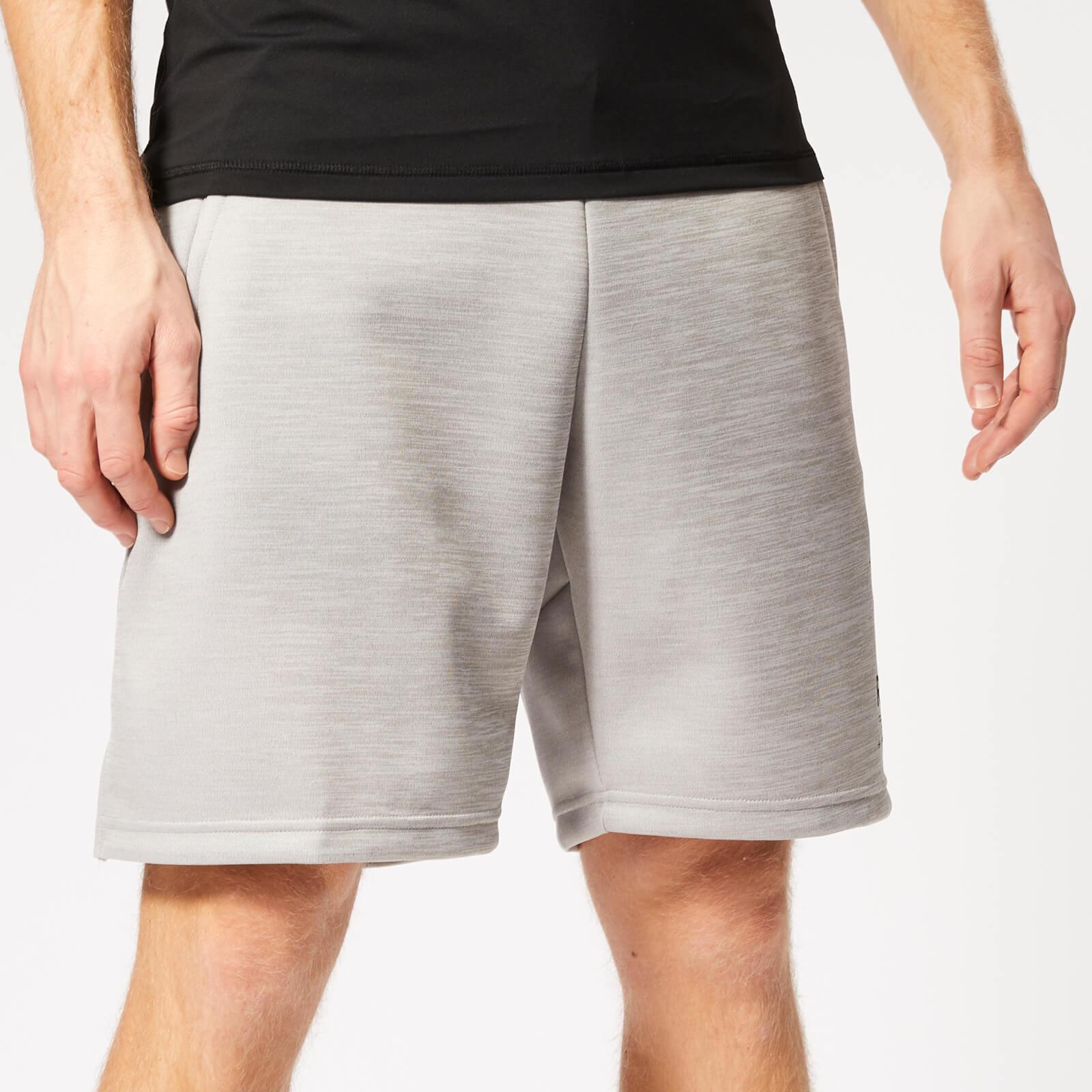Reebok Men's Spacer Shorts - Grey Heather - S - Grey