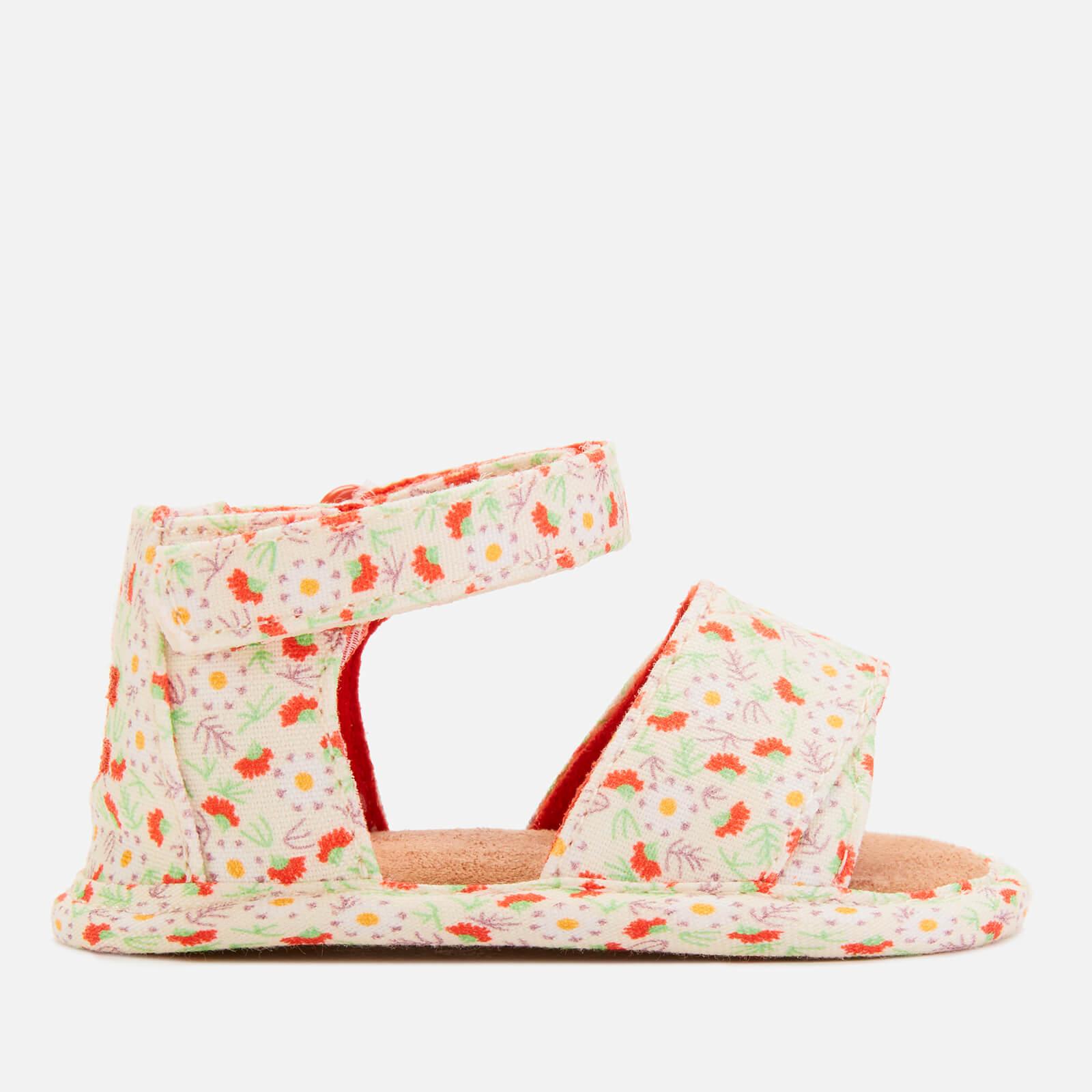 TOMS Babie's Shiloh Sandals - Floral - UK 0.5 Baby - Multi