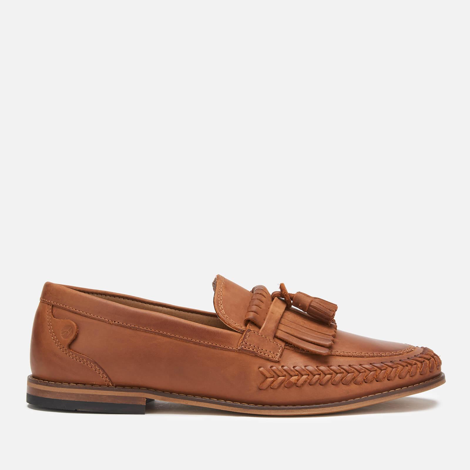 Hudson London Men's Alloa Kiltie Tassel Loafers - Cognac - UK 11