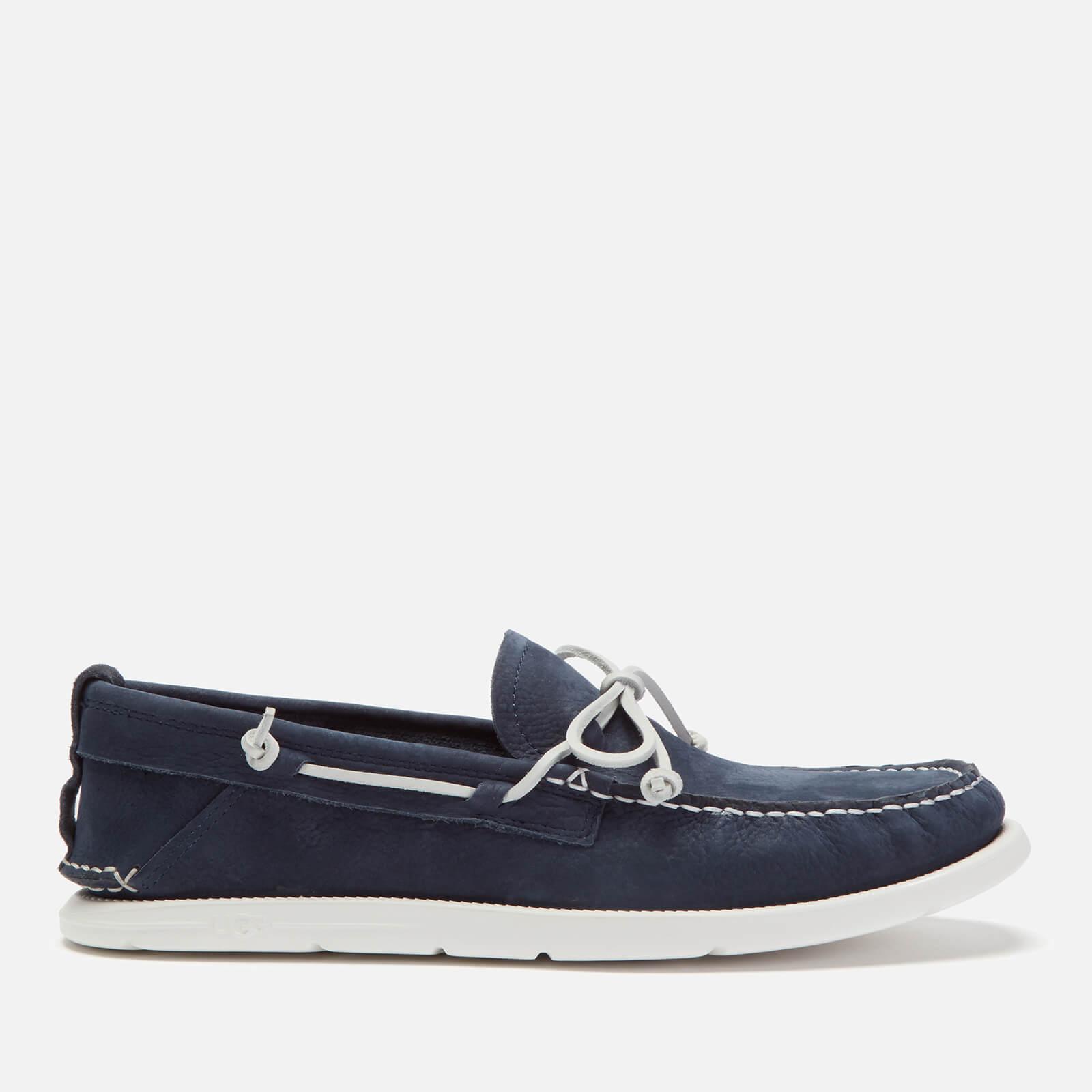 UGG Men's Beach Moc Slip-On Boat Shoes - True Navy - UK 7