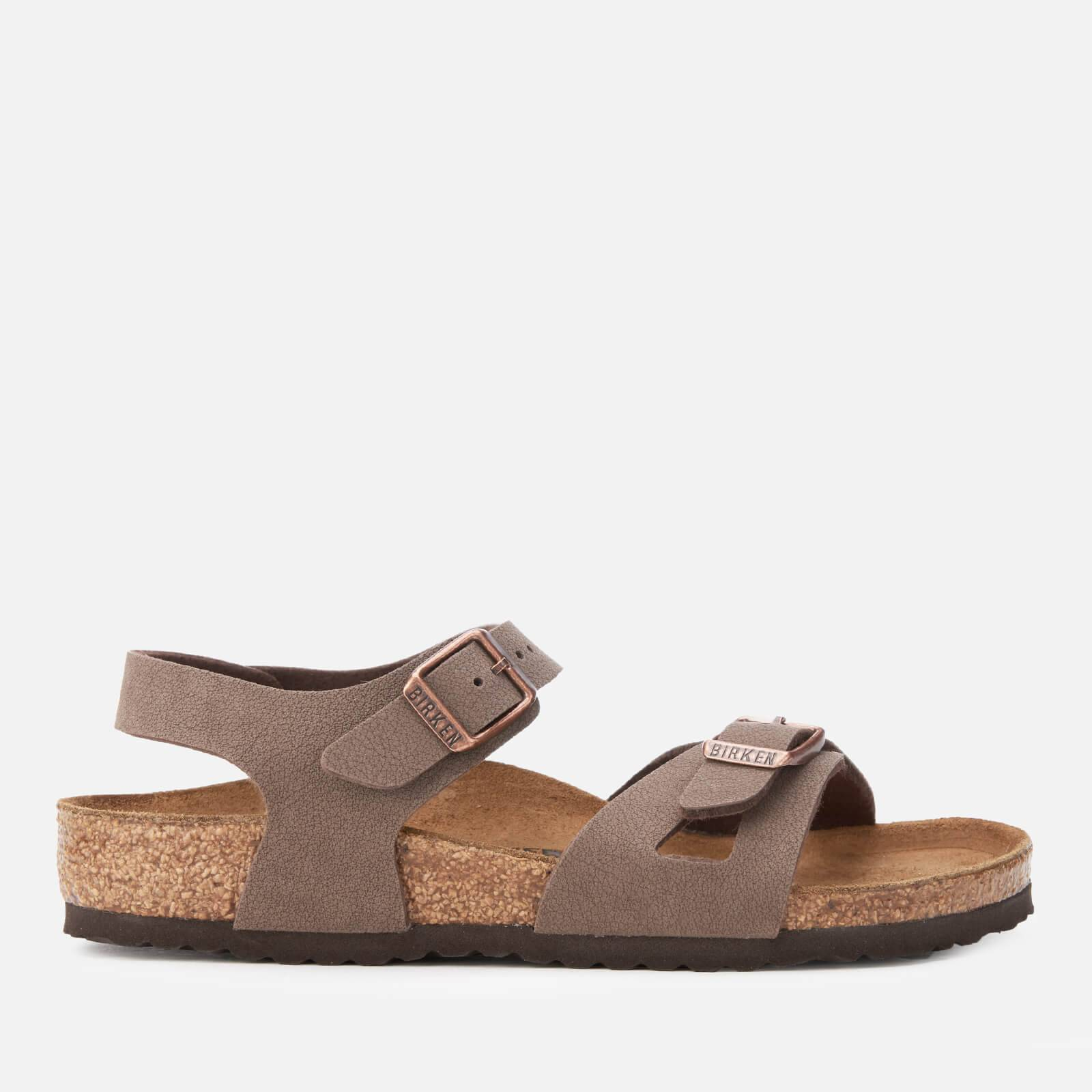 Birkenstock Kids' Rio Slim Fit Double Strap Sandals - Mocha - EU 29/UK 11
