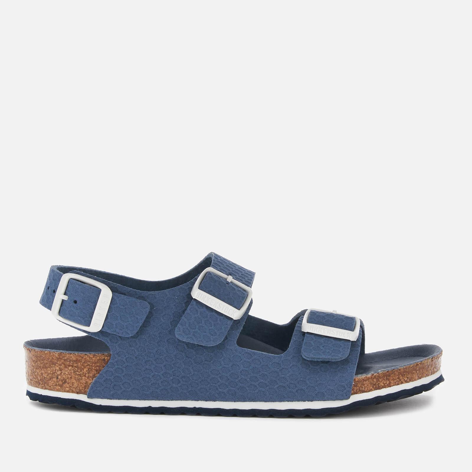 Birkenstock Kids' Milano Double Strap Sandals - Hexagon Tech Blue - EU 32/UK 13.5