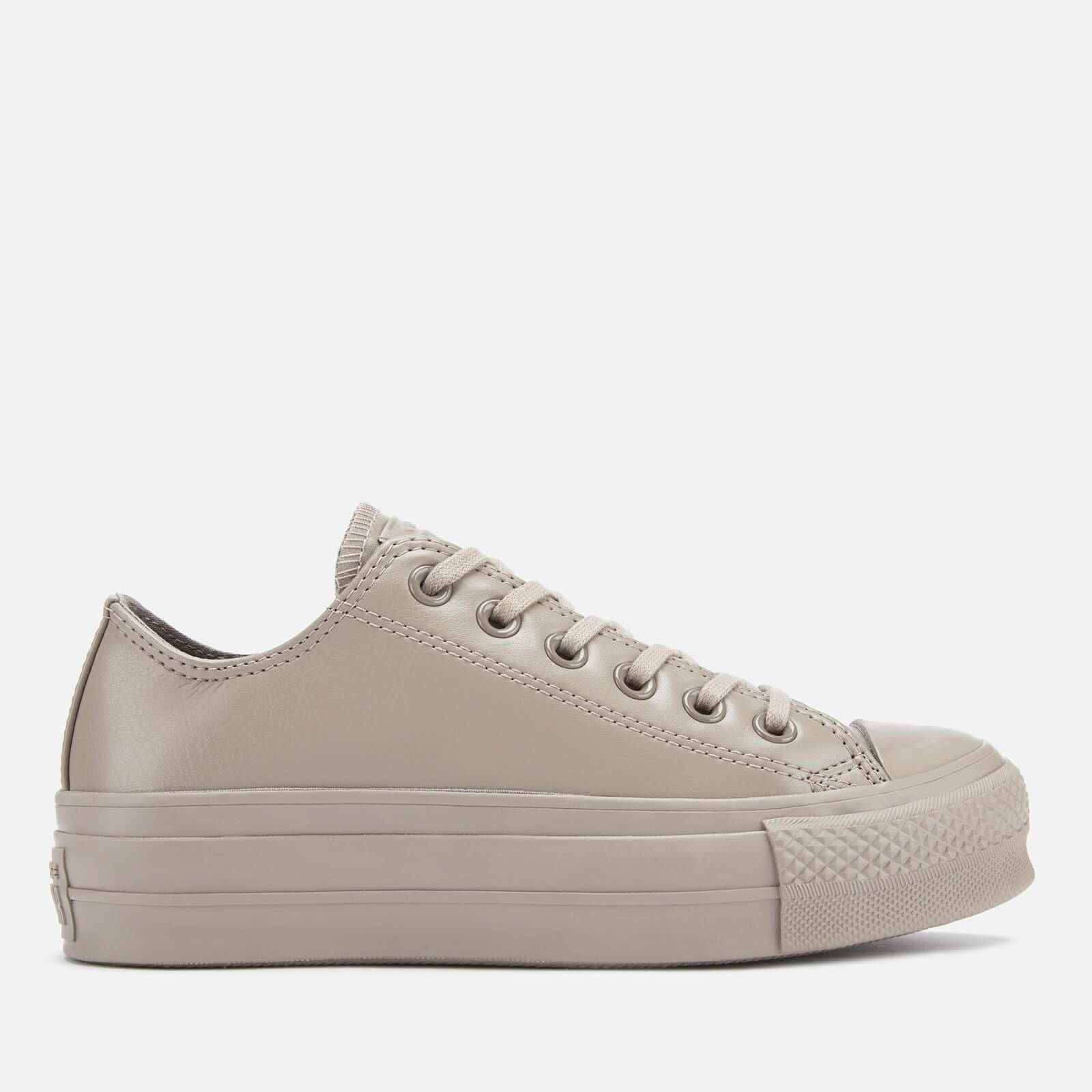 Converse Women's Chuck Taylor All Star Lift Ox Trainers - Sepia Stone/Sepia Stone - UK 4 - Brown