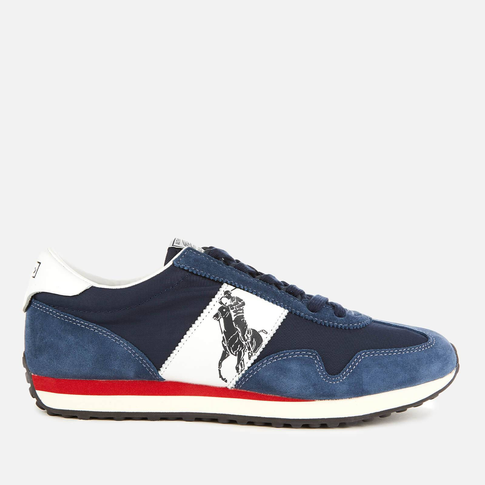 Ralph Lauren Polo Ralph Lauren Men's Train 90 PP Runner Style Trainers - Newport Navy/White - UK 9 - Blue