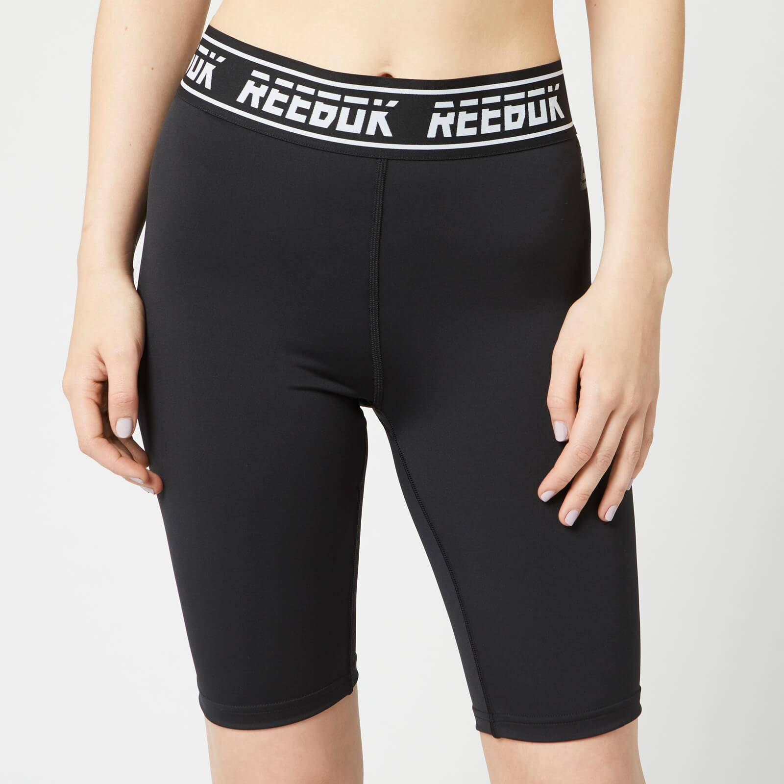 Reebok Women's WOR MYT Bike Shorts - Black - M - Black