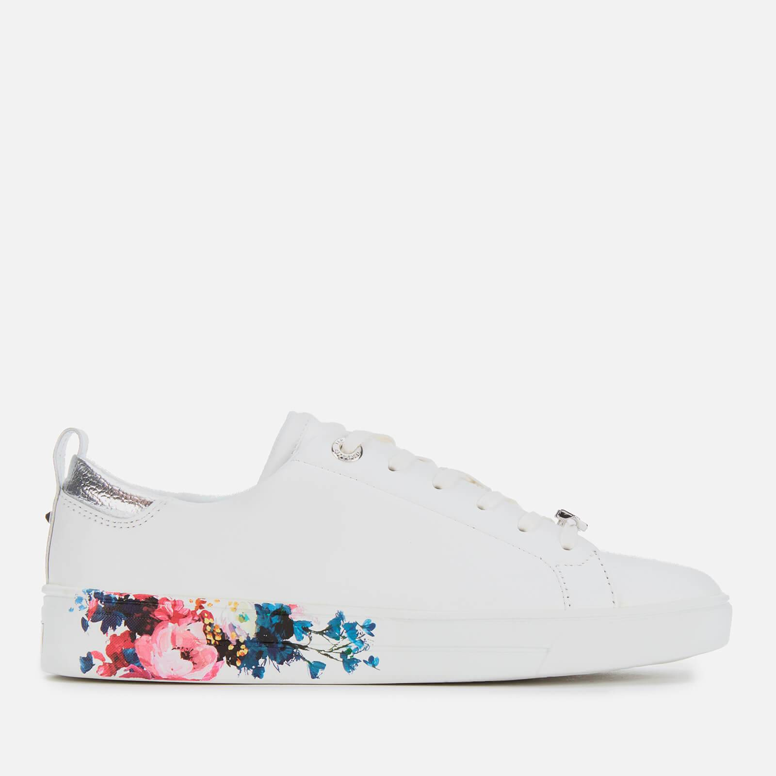 Ted Baker Women's Roully Leather Low Top Trainers - White - UK 6 - White