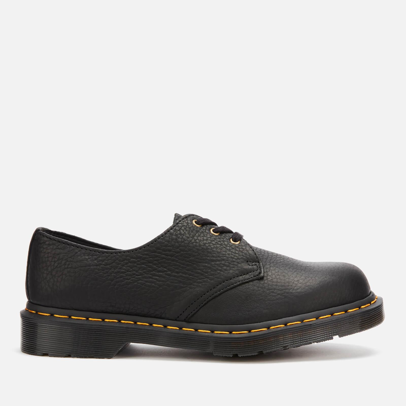 Dr. Martens Men's 1461 Ambassador Soft Leather 3-Eye Shoes - Black - UK 8 - Black