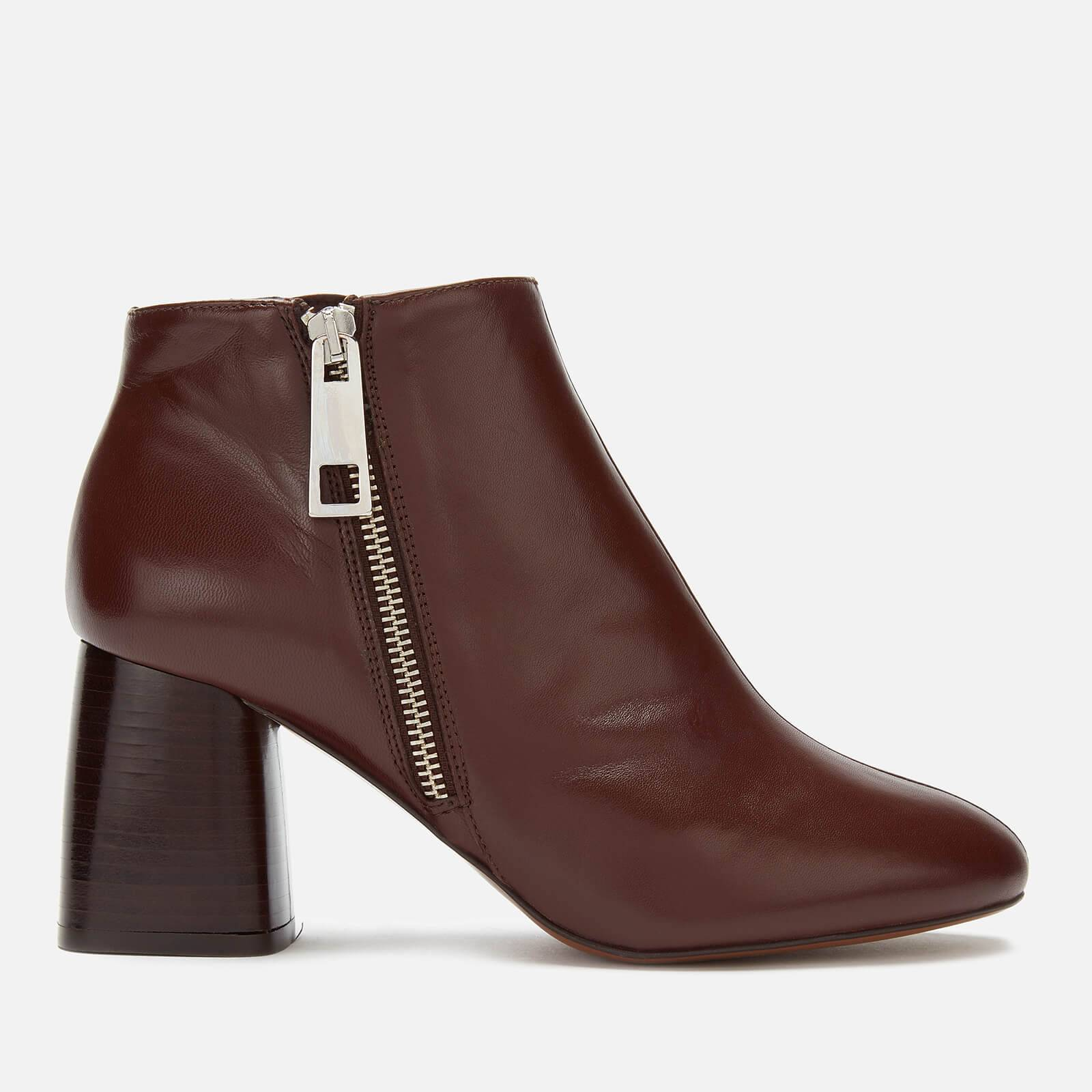 Whistles Women's Pippa Side Zip Boots - Brown - UK 6