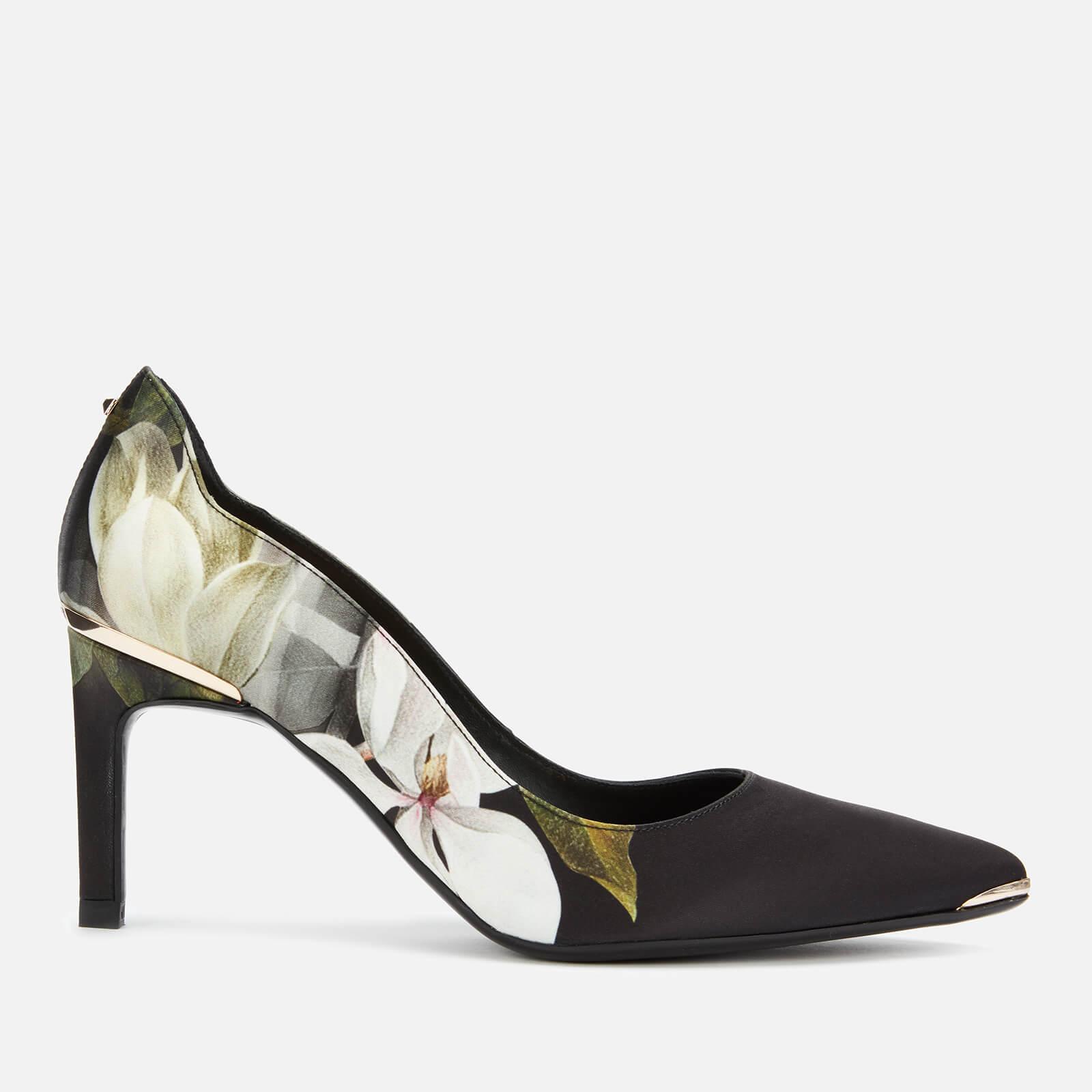 Ted Baker Women's Eriinp Satin Court Shoes - Opal - UK 7 - Black