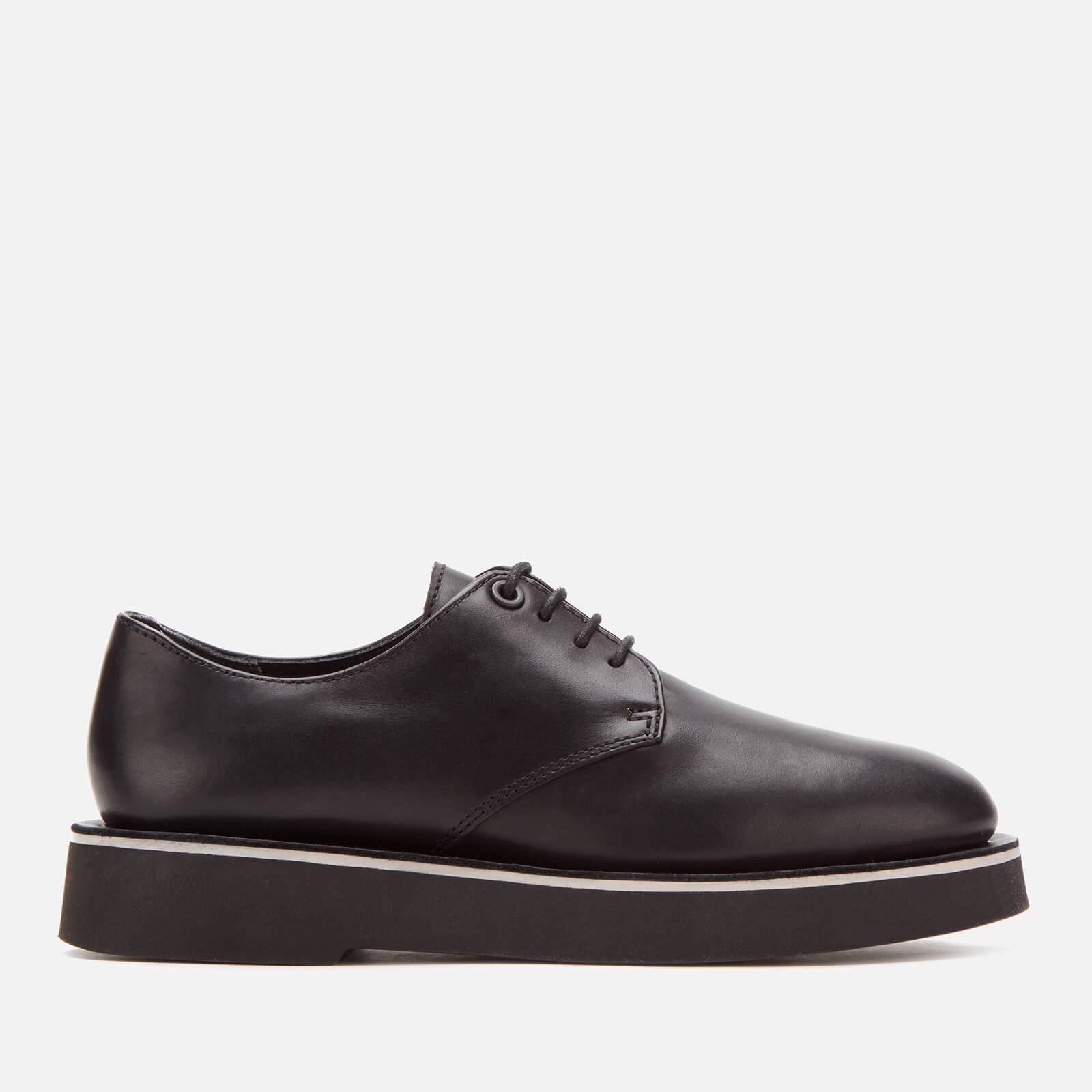 Camper Women's Tyra Leather Derby Shoes - Black - UK 8