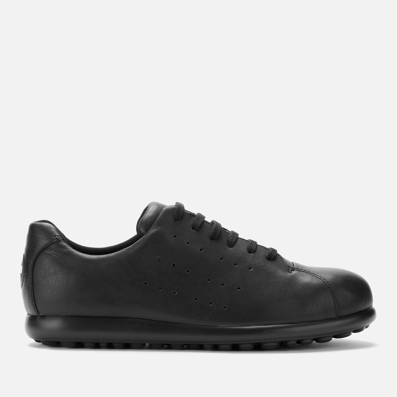 Camper Men's Pelotas Leather Low Top Shoes - Black - UK 10