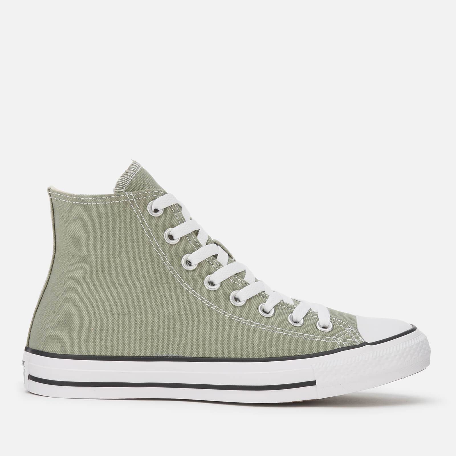 Converse Chuck Taylor All Star Seasonal Color Ox Trainers - Jade Stone - UK 9 - Green