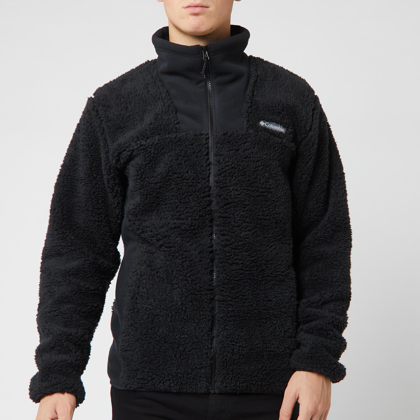 Columbia Men's Winter Pass Full Zip Fleece - Black - L