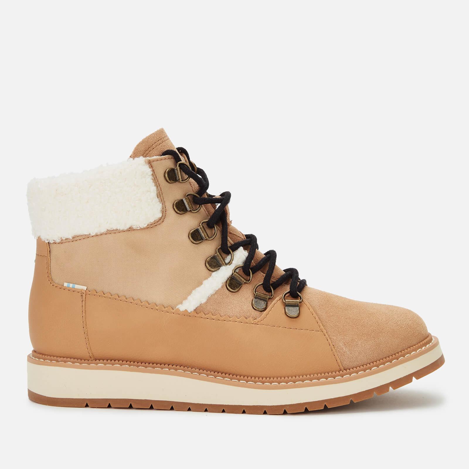 TOMS Women's Mesa Hiking Style Boots - Tan - UK 7