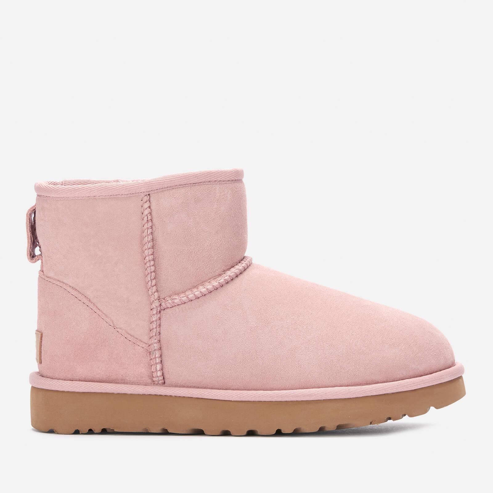 UGG Women's Classic Mini II Sheepskin Boots - Pink Crystal - UK 7