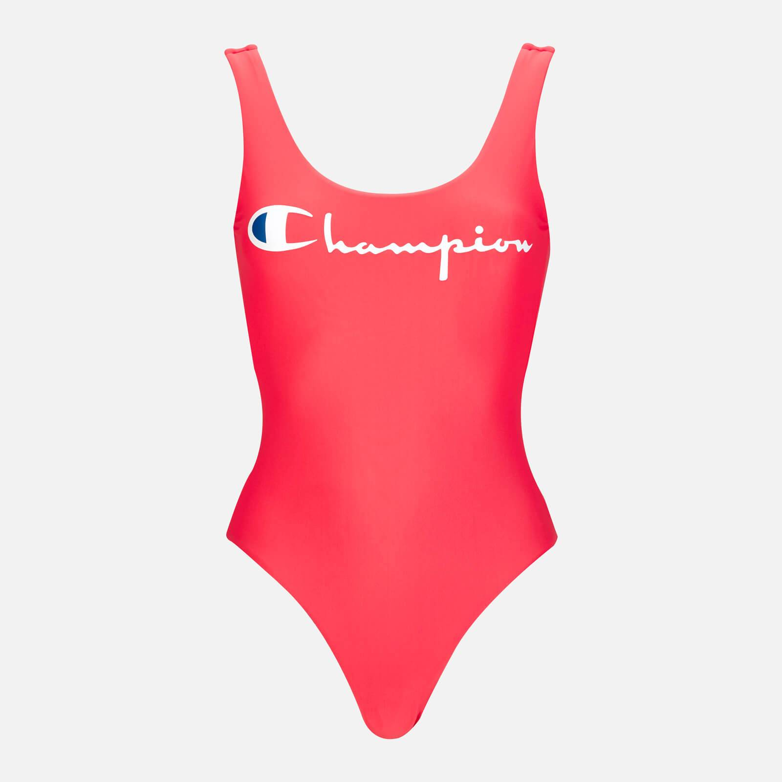 Champion Women's Reversible Swimsuit - Pink - XS - Pink