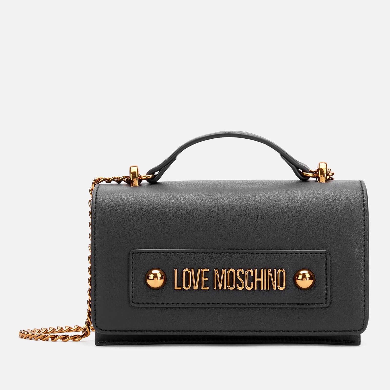 Moschino Love Moschino Women's Logo Shoulder Bag - Black