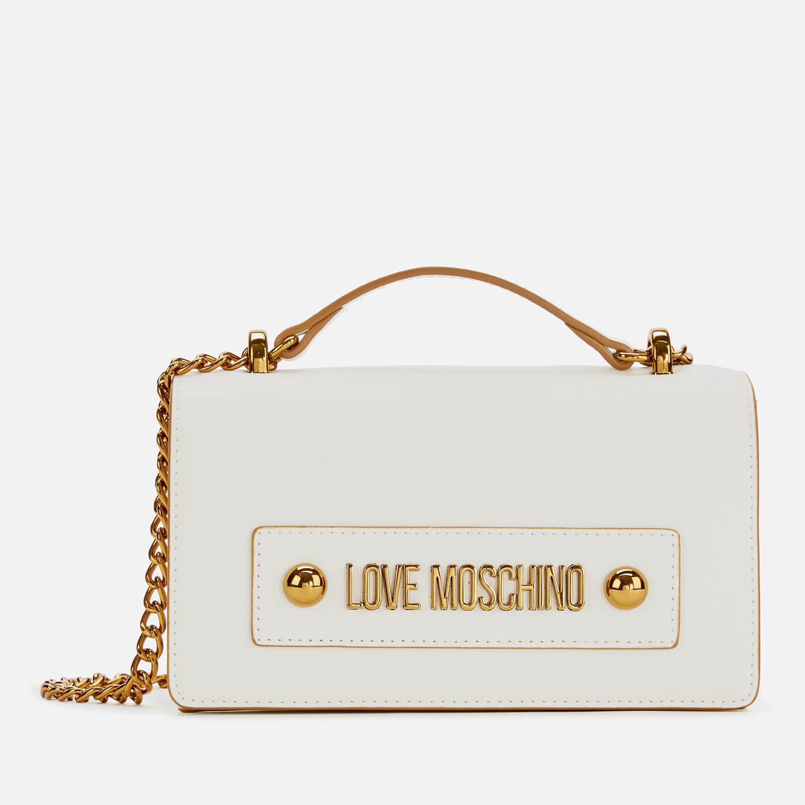 Moschino Love Moschino Women's Logo Shoulder Bag - White