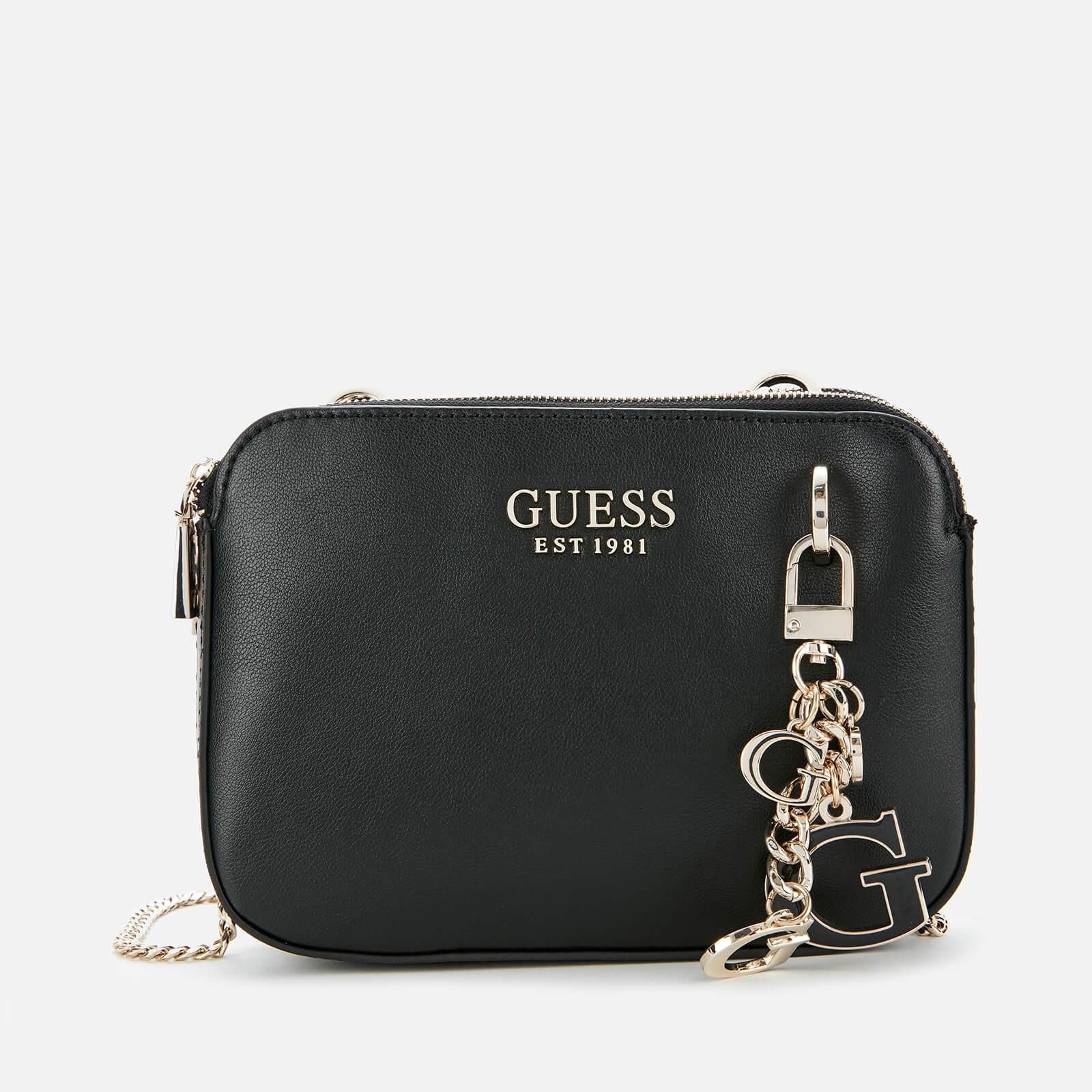 Guess Women's Sherol Convertible Cross Body Bag - Black