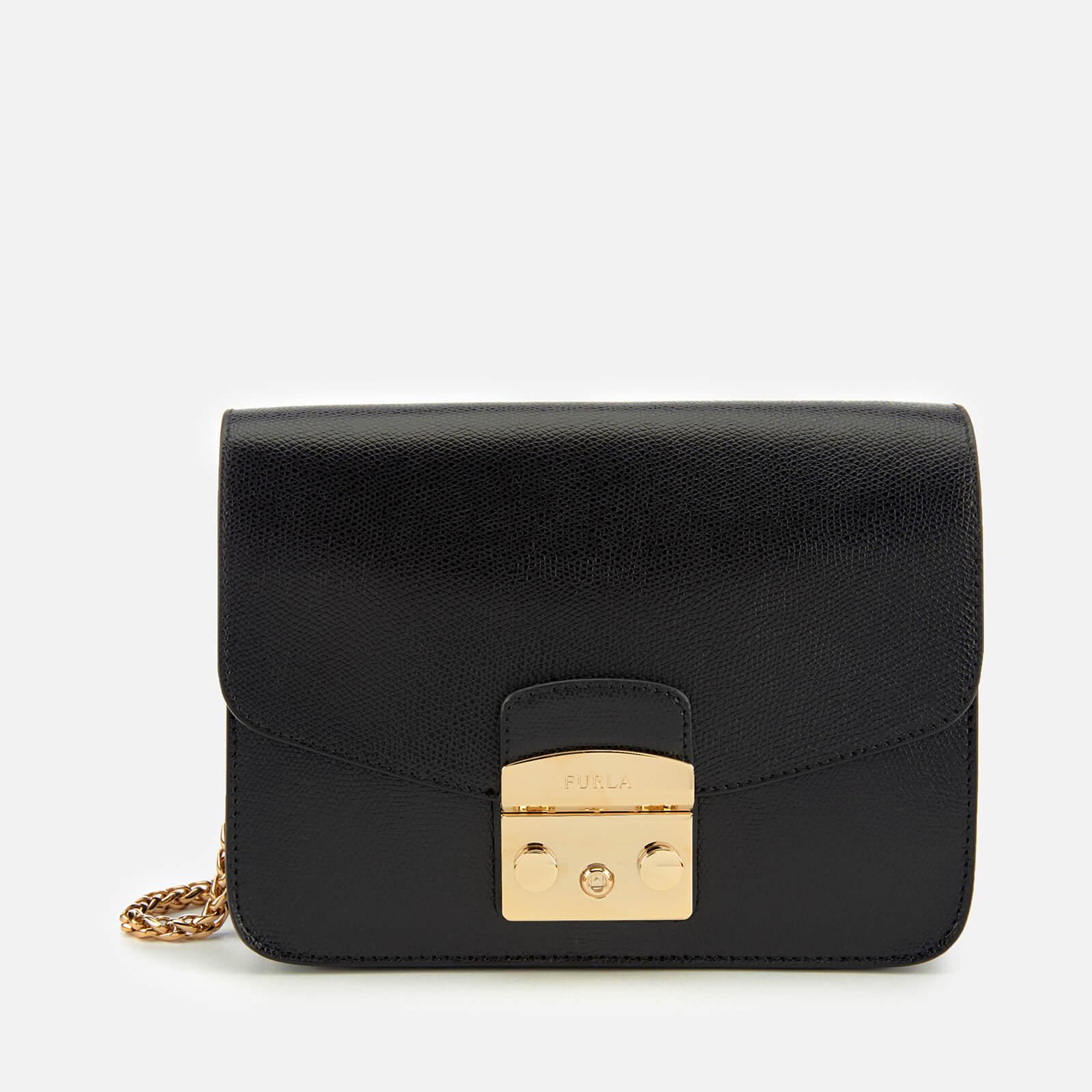 Furla Women's Metropolis Small Cross Body Bag - Black