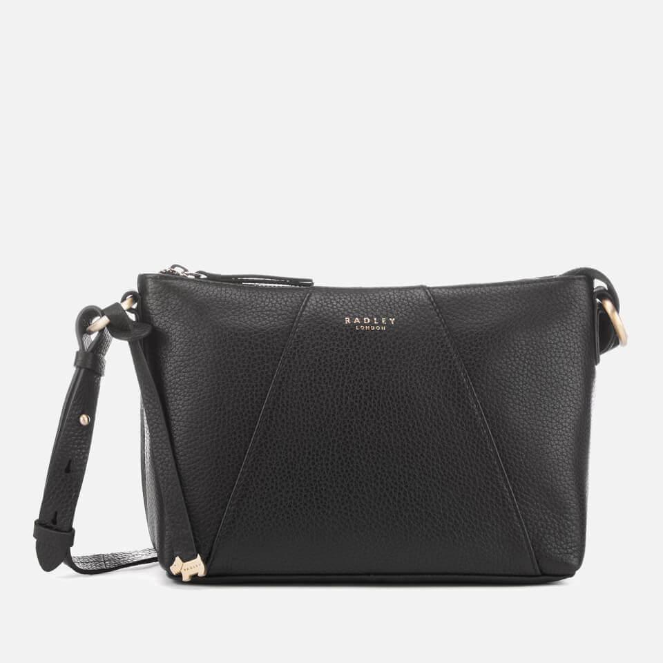 Radley Women's Wood Street Medium Zip Top Cross Body Bag - Black