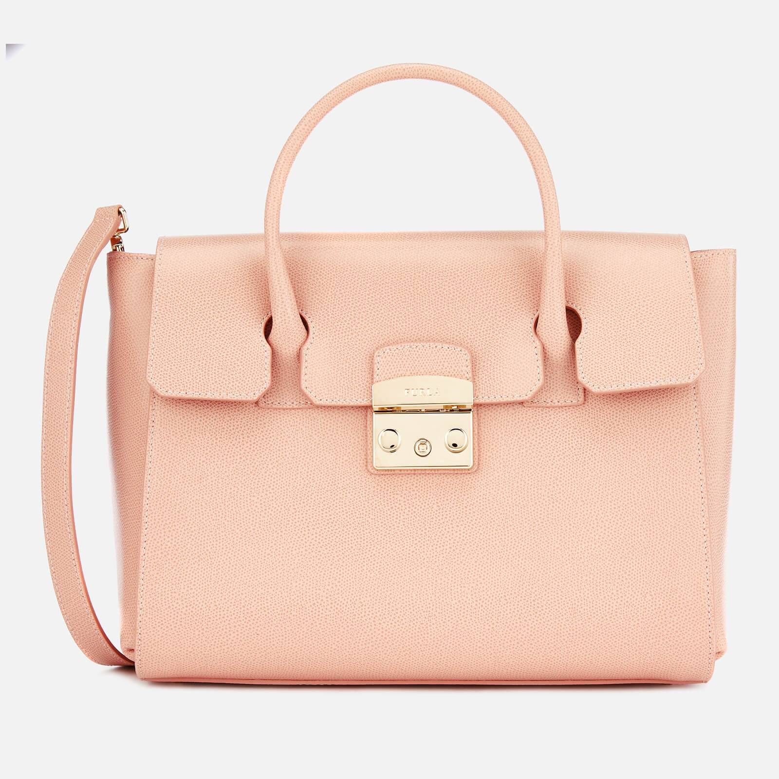 Furla Women's Metropolis Medium Satchel - Moonstone