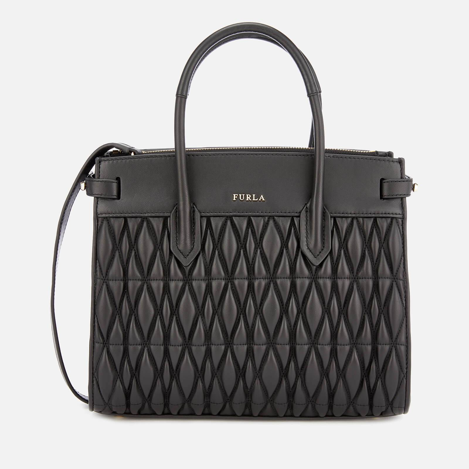 Furla Women's Pin Cometa Small Tote Bag - Black
