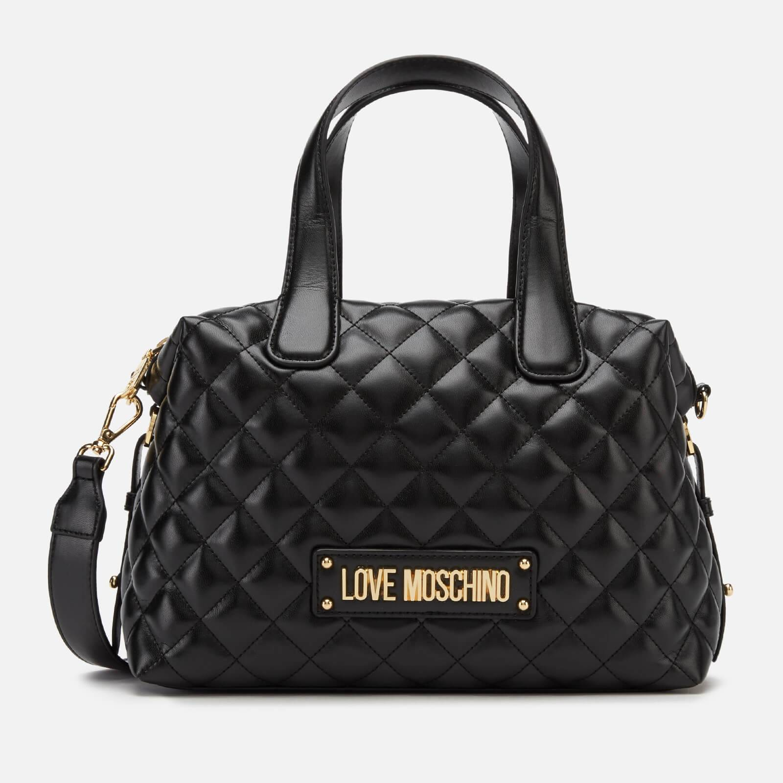 Moschino Love Moschino Women's Quilted Bowling Bag - Black