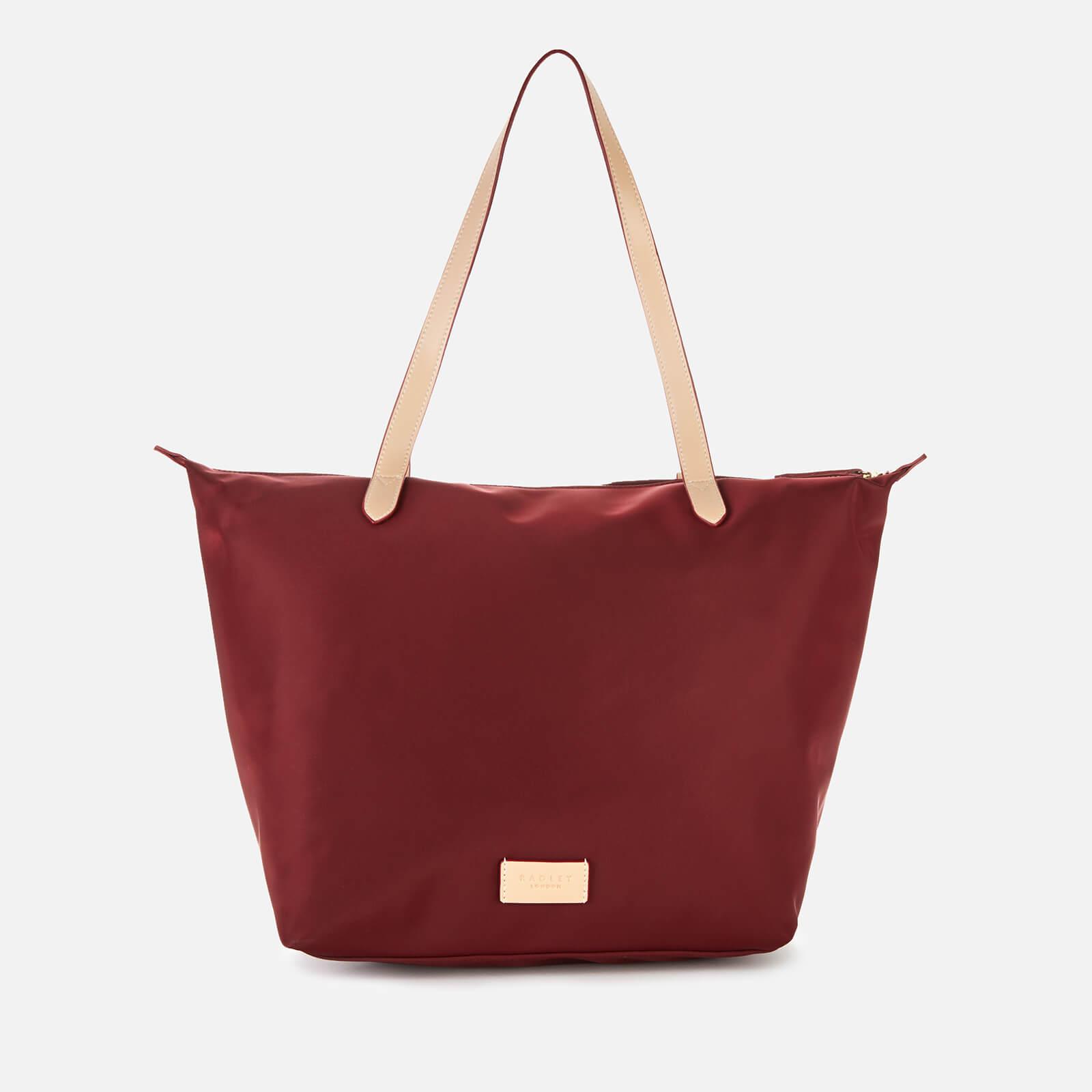 Radley Women's Pocket Essentials Large Zip Top Tote Bag - Merlot