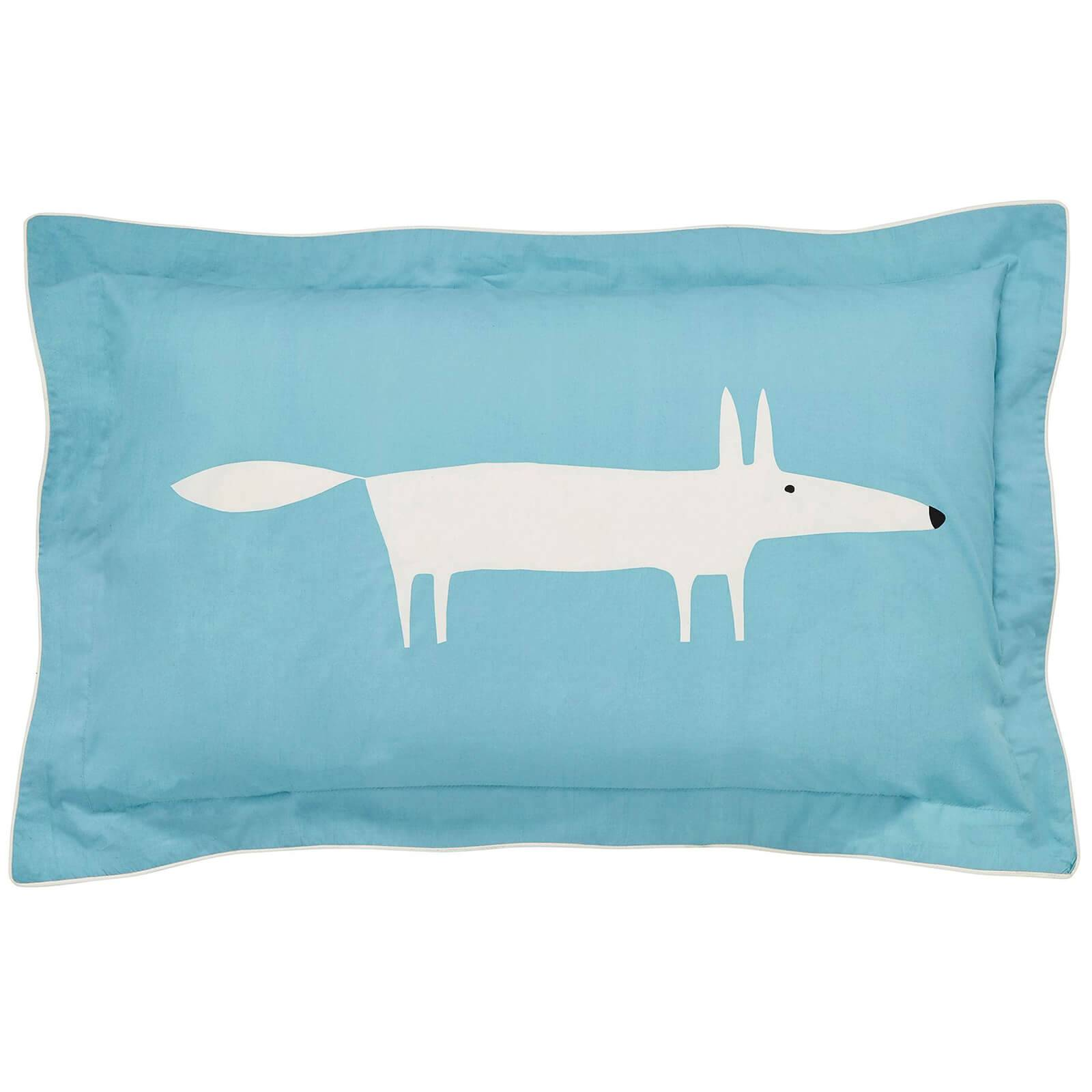 Scion Mr. Fox Oxford Pillowcase - Teal
